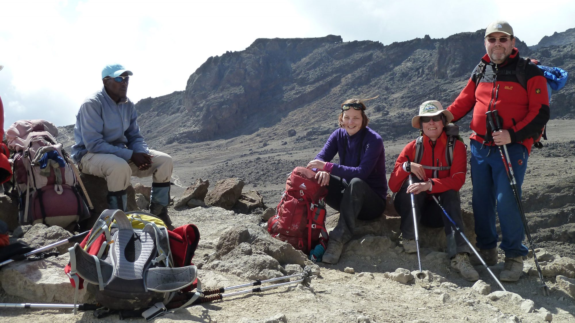 Pause, Kilimandscharo, Kilimandscharo besteigen, Tansania, Afrika, Kilimandscharo Tour, Erfahrungsbericht, Machame Route