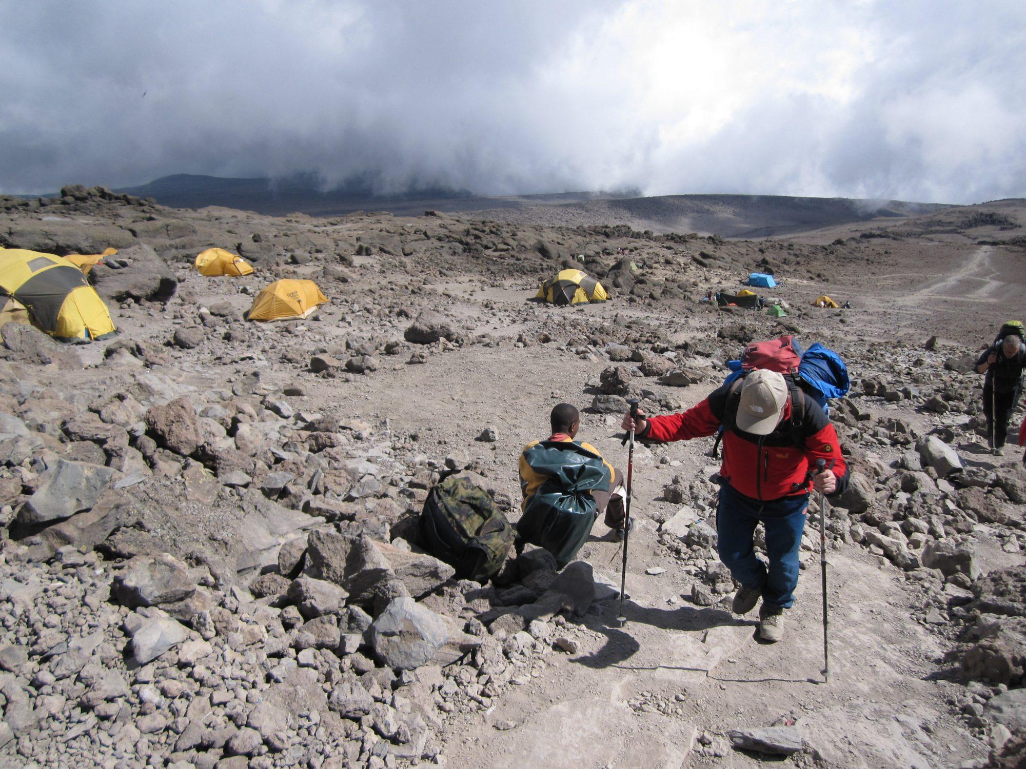 Barafu Camp, Kilimandscharo, Kilimandscharo besteigen, Tansania, Afrika, Kilimandscharo Tour, Erfahrungsbericht, Machame Route