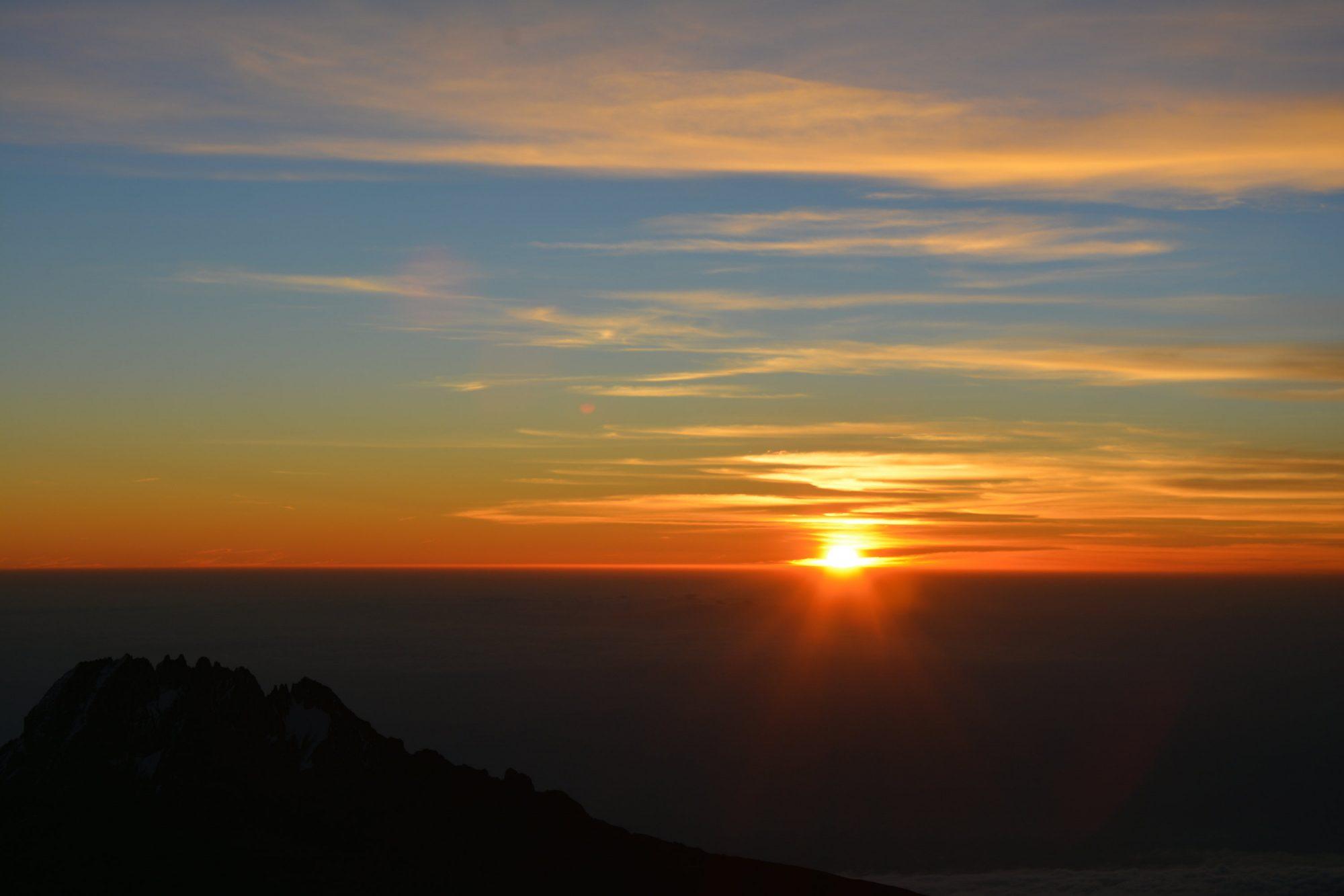 Sonnenaufgang am Dach Afrikas, Kilimandscharo, Kilimandscharo besteigen, Tansania, Afrika, Kilimandscharo Tour, Erfahrungsbericht, Machame Route
