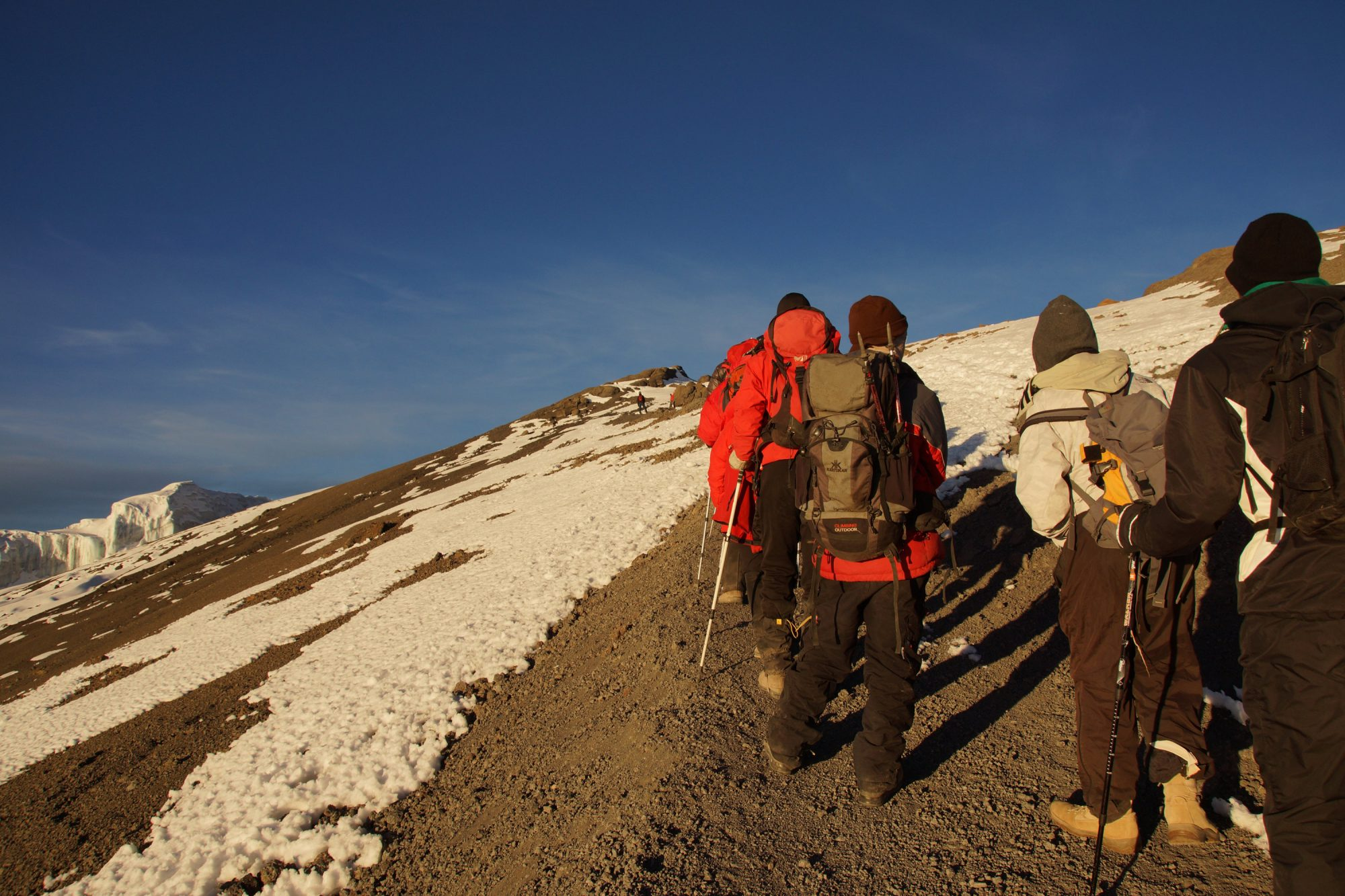 Weg zum Gipfel, Kilimandscharo, Kilimandscharo besteigen, Tansania, Afrika, Kilimandscharo Tour, Erfahrungsbericht, Machame Route