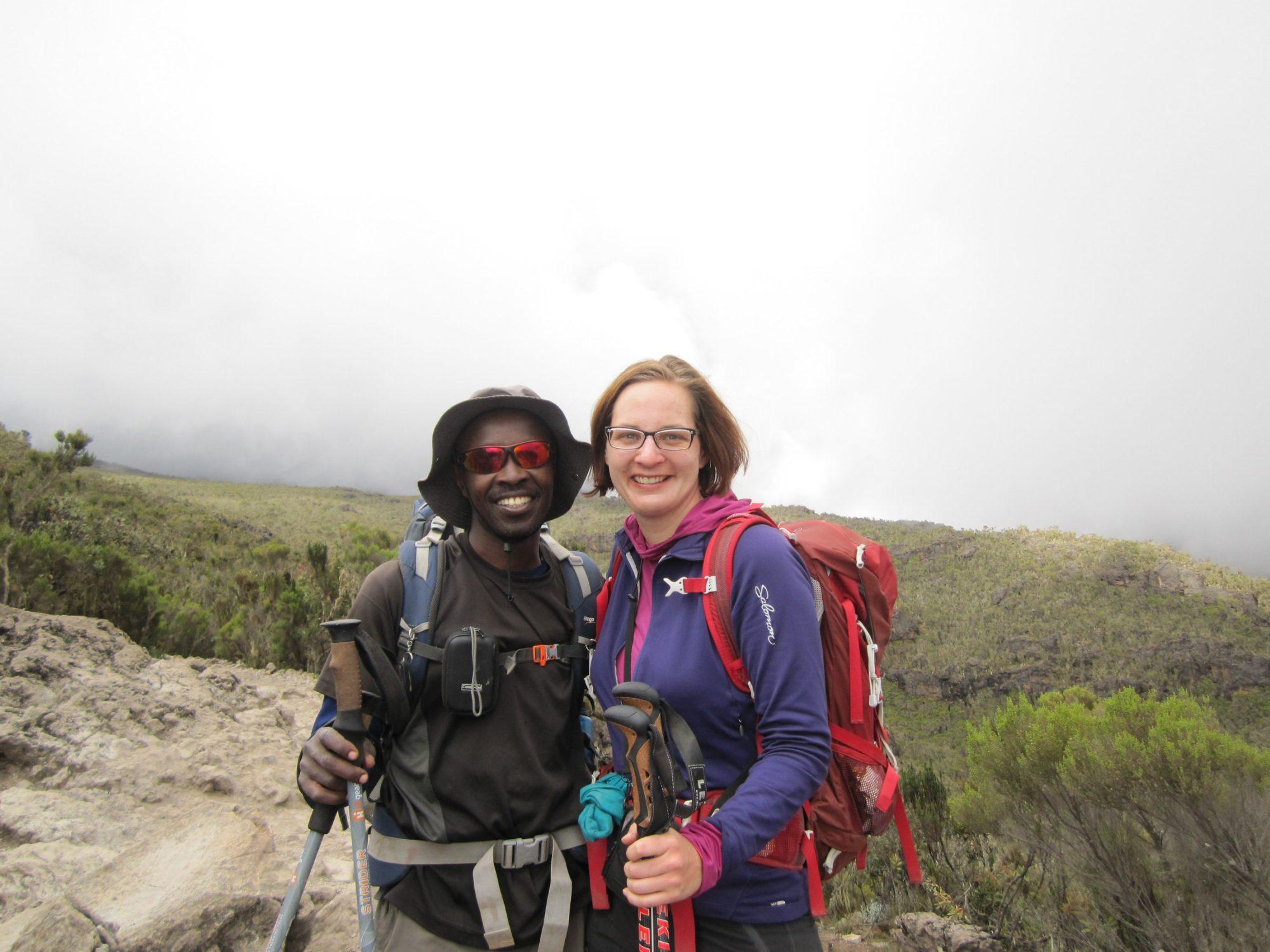 Müde Wanderer, Kilimandscharo, Kilimandscharo besteigen, Tansania, Afrika, Kilimandscharo Tour, Erfahrungsbericht, Machame Route