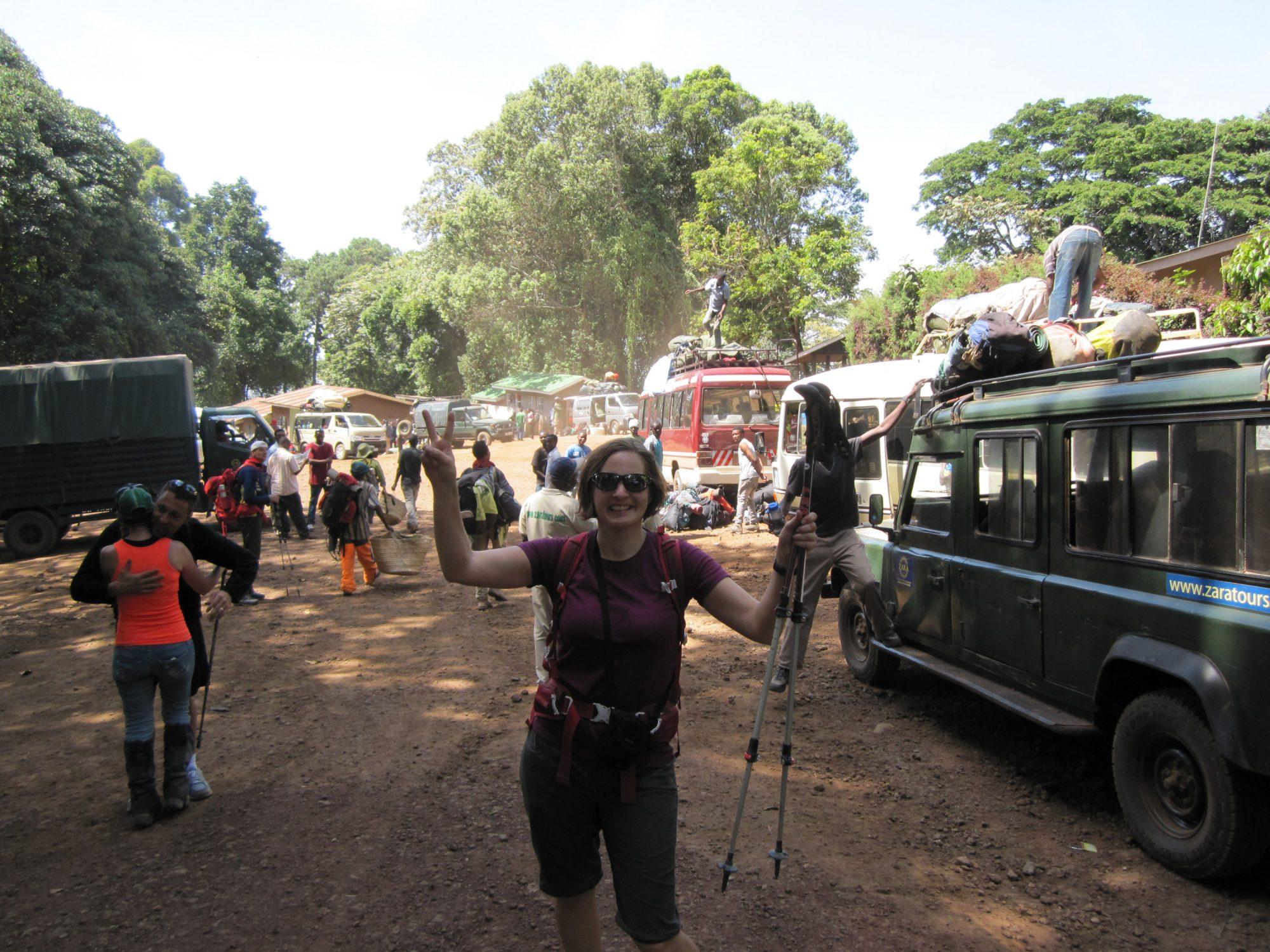 Mweka Gate, Kilimandscharo, Kilimandscharo besteigen, Tansania, Afrika, Kilimandscharo Tour, Erfahrungsbericht, Machame Route
