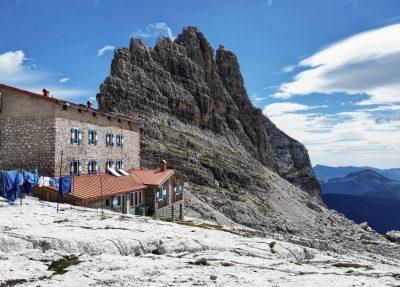 Hütte Dolomiten, Packliste Hüttentour, Packliste Alpenüberquerung, Wandern, Mehrtagestour,