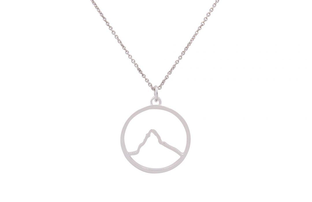 Fjella Matterhorn Kette Silber Freigestellt Webseite