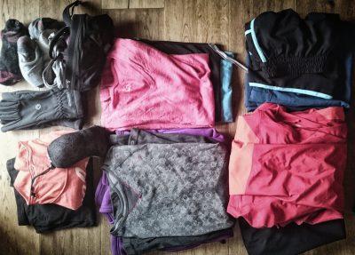 Kleidung, Packliste Hüttentour, Packliste Alpenüberquerung, Wandern, Mehrtagestour,