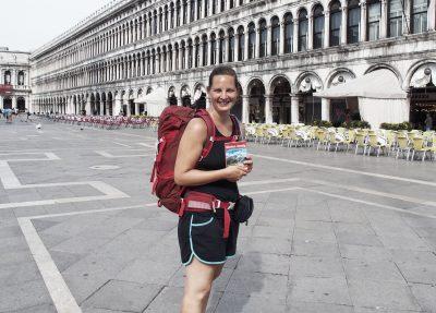Start Alpenüberquerung, Venedig, Packliste Hüttentour, Packliste Alpenüberquerung, Wandern, Mehrtagestour,