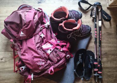 ausrüstung, Packliste Hüttentour, Packliste Alpenüberquerung, Wandern, Mehrtagestour,