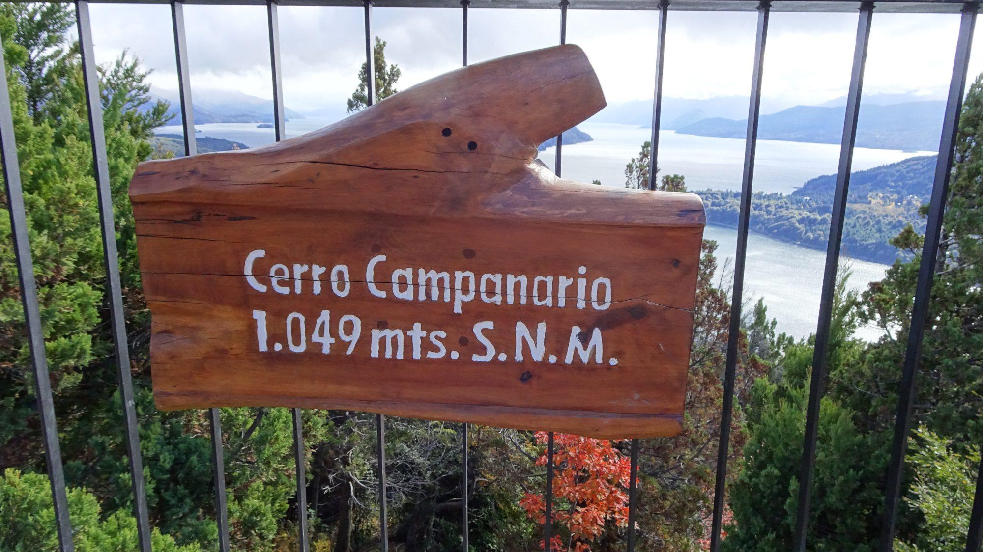 Fjella Bariloche Wanderung Ausflug Cerro Campanario Ausblick Seenlandschaft Patagonien Argentinische Schweiz Gipfel