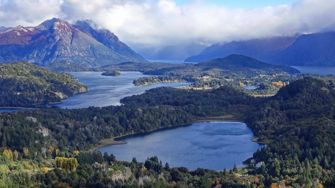 Fjella Bariloche Wanderung Ausflug Cerro Campanario Ausblick Seenlandschaft Patagonien Argentinische Schweiz