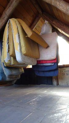 Fjella El Bolson Dedo Gordo Hütte Matratzenlager Wanderung Patagonien Warton Dedo Gordo Encanto Blanco Wanderroute Wandern