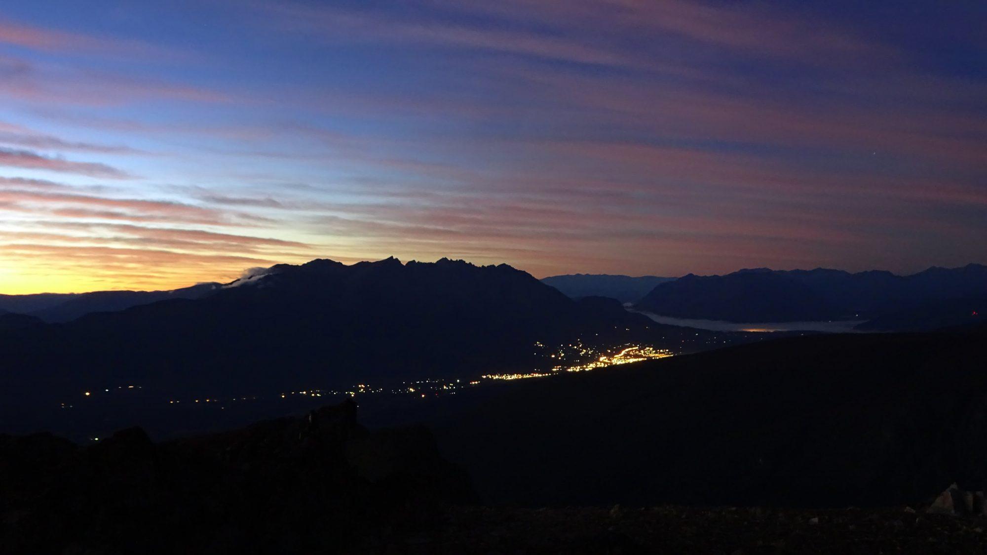 Fjella El Bolson Wanderung Patagonien Warton Dedo Gordo Encanto Blanco Wanderroute Wandern El Bolson bei Nacht
