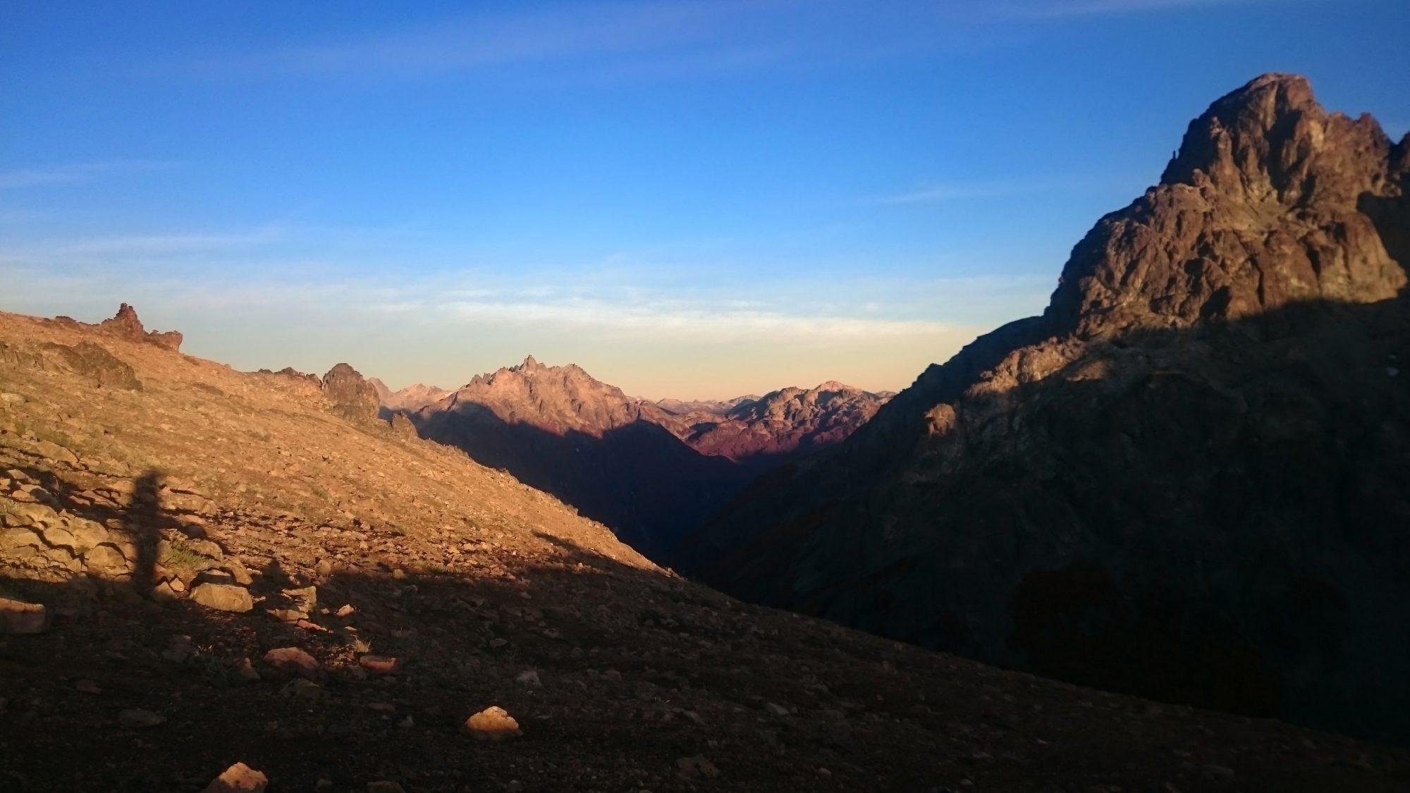 Fjella El Bolson Wanderung Patagonien Warton Dedo Gordo Encanto Blanco Wanderroute Wandern Sonnenaufgang