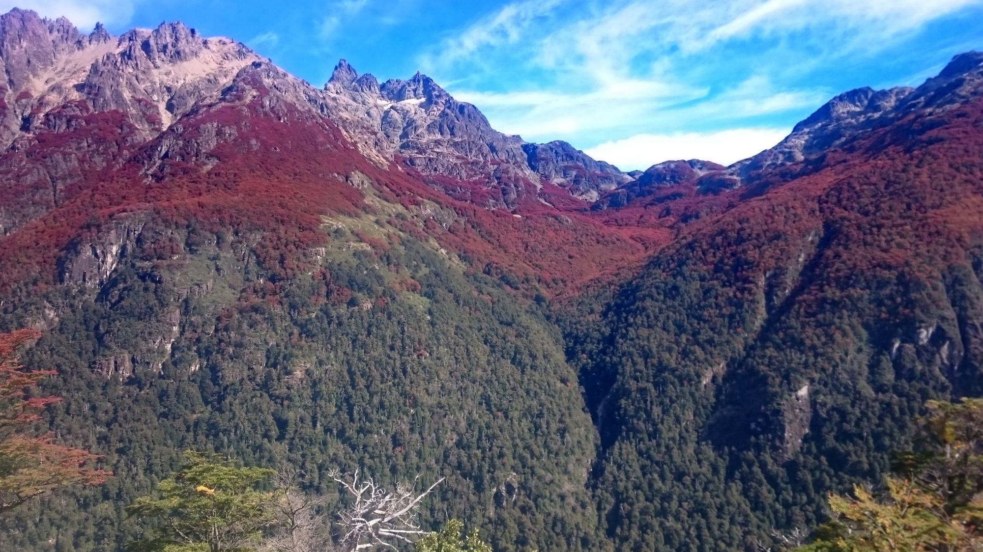 Fjella El Bolson Wanderung Encanto Blanco Patagonien Warton Dedo Gordo Encanto Blanco Wanderroute Wandern