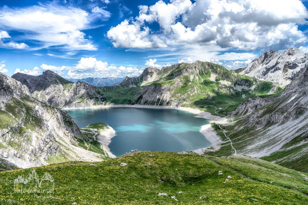 Lieblingsberg, Schesaplana, Brandnertal, Vorarlberg, Österreich, Lünersee, Lünerseebahn