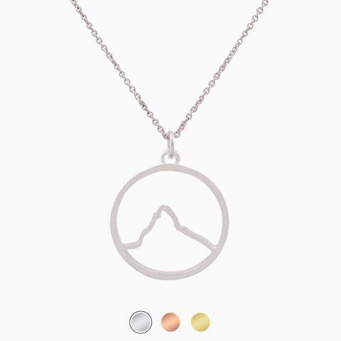 Matterhorn Kette Silber Freigestellt Buttons Neu Webseite 2020