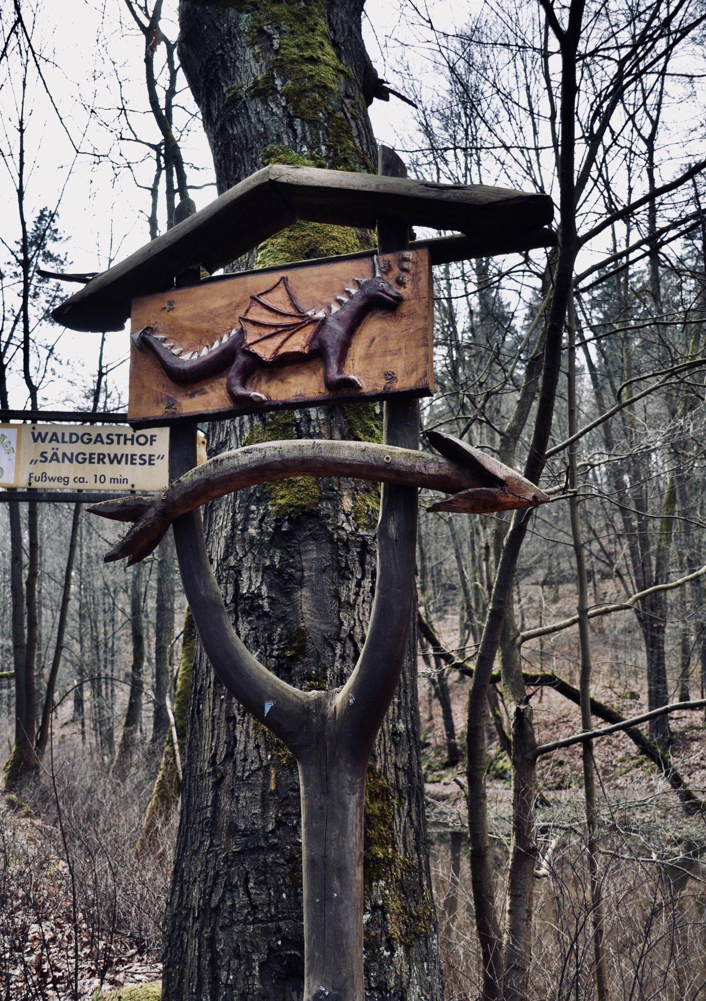 Drachenschlucht bei Eisenach, Thüringen, Deutschland, Lieblingstour, Fjella, Wanderroute, Wanderung