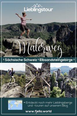 Malerweg Sächsische Schweiz im Elbsandsteingebirge