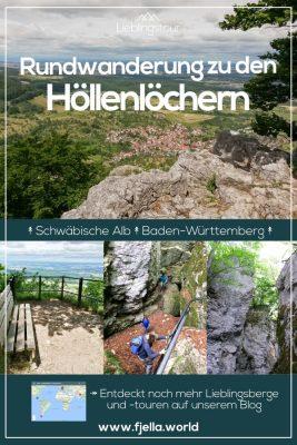 Schwäbische Alb, Rundwanderung, Gestütshof St. Johann, Höllenlöcher, Baden Württemberg