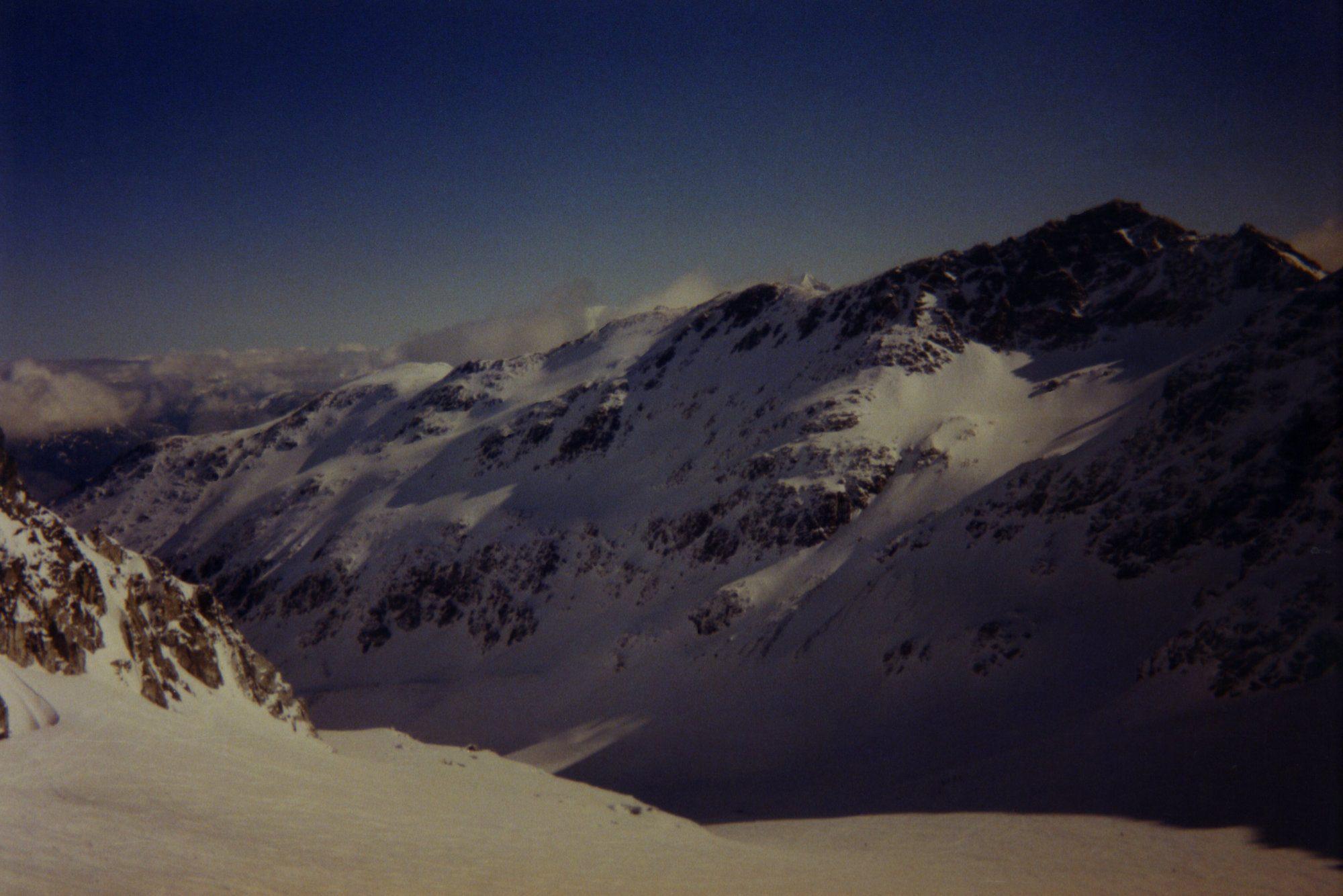 Whistler Bergblick