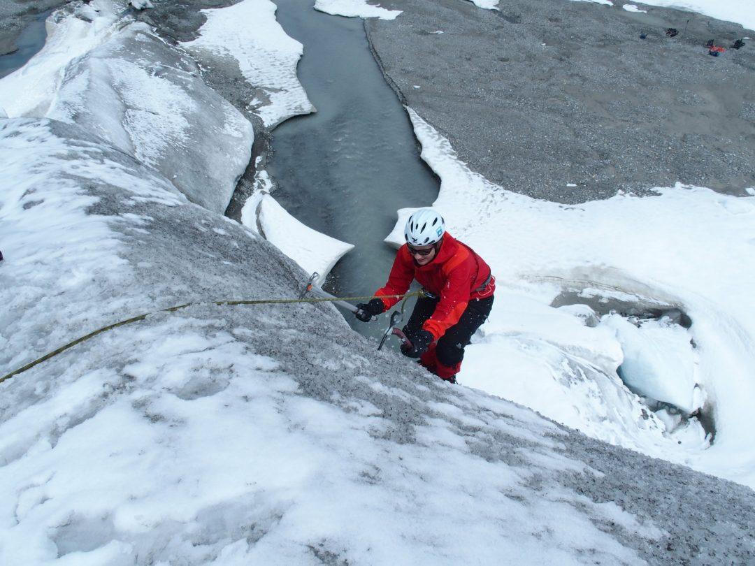 Gletscher, Pickel, Steigeisen, Klettern, Gletscherkurs, Hochtour, Hochtourenkurs, Ausbildung, Bergsteigen, Gletscher, Kurs, Schulung, Pitztal, Taschachhaus, Fjella