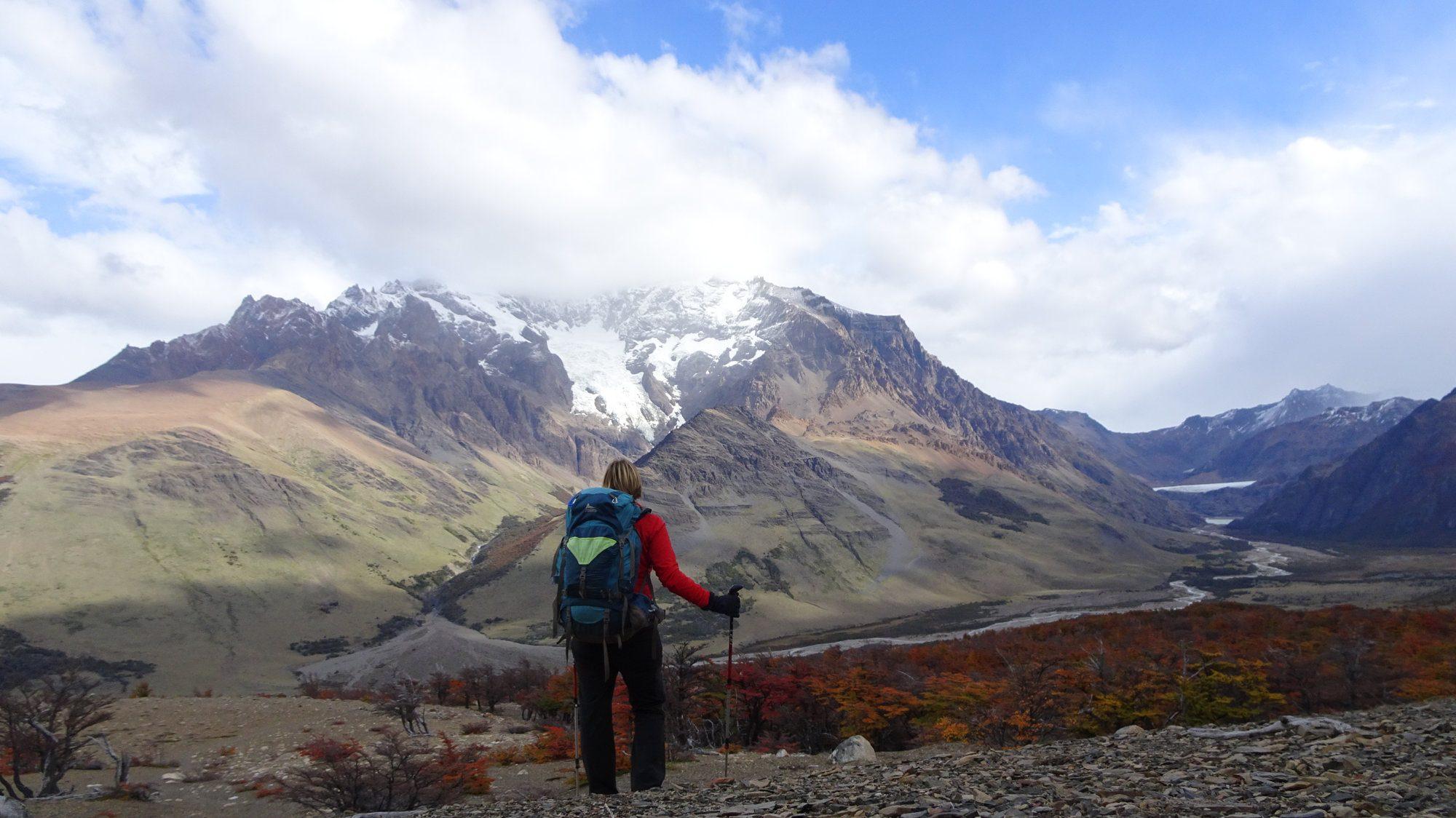 Huemul Berg, El Chaltén, Patagonien, Argentinien, Wanderung, Trekking