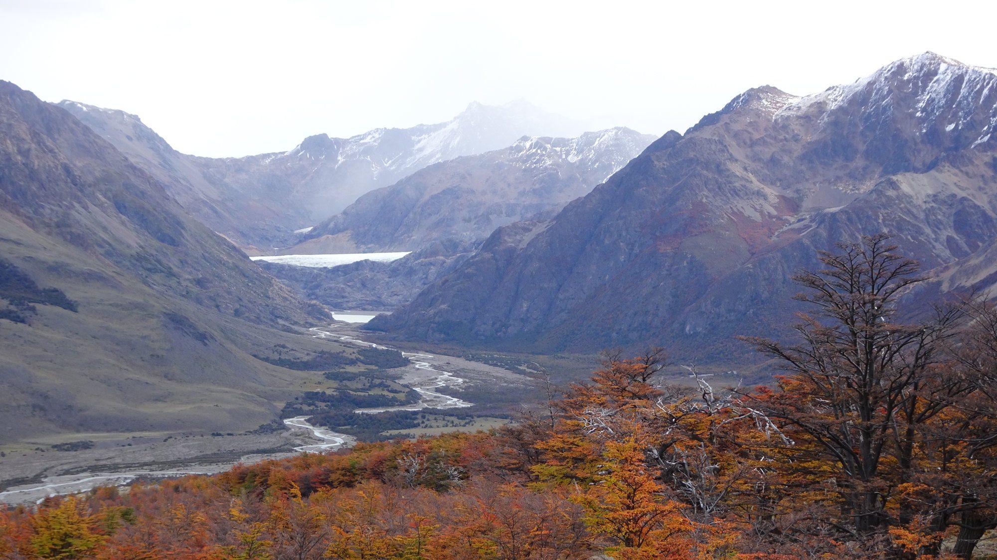 Rio Toro, Huemul Circuit, El Chaltén, Patagonien, Argentinien, Wanderung, Trekking