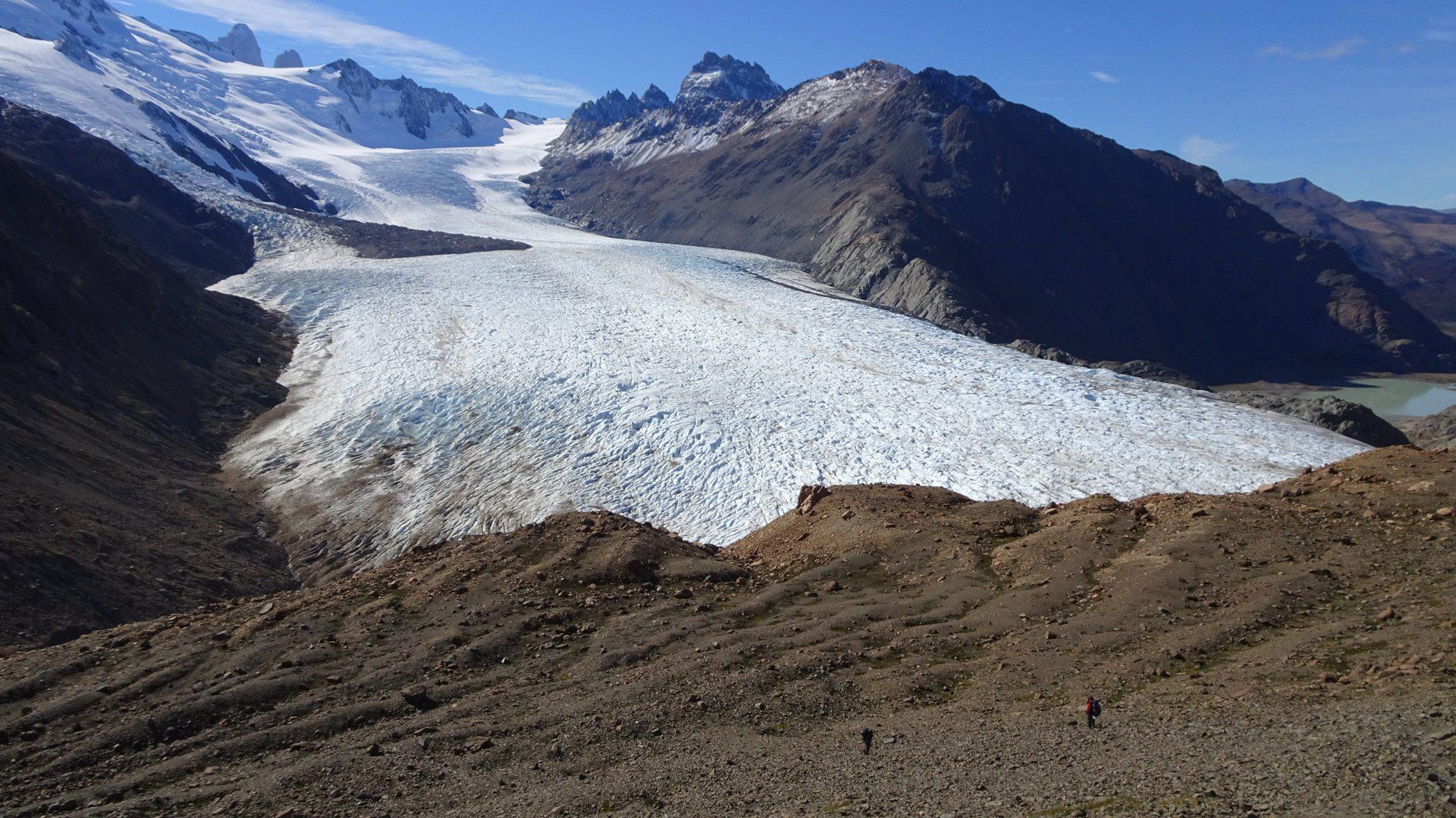 Huemul Circuit, El Chaltén, Patagonien, Argentinien, Wanderung, Trekking