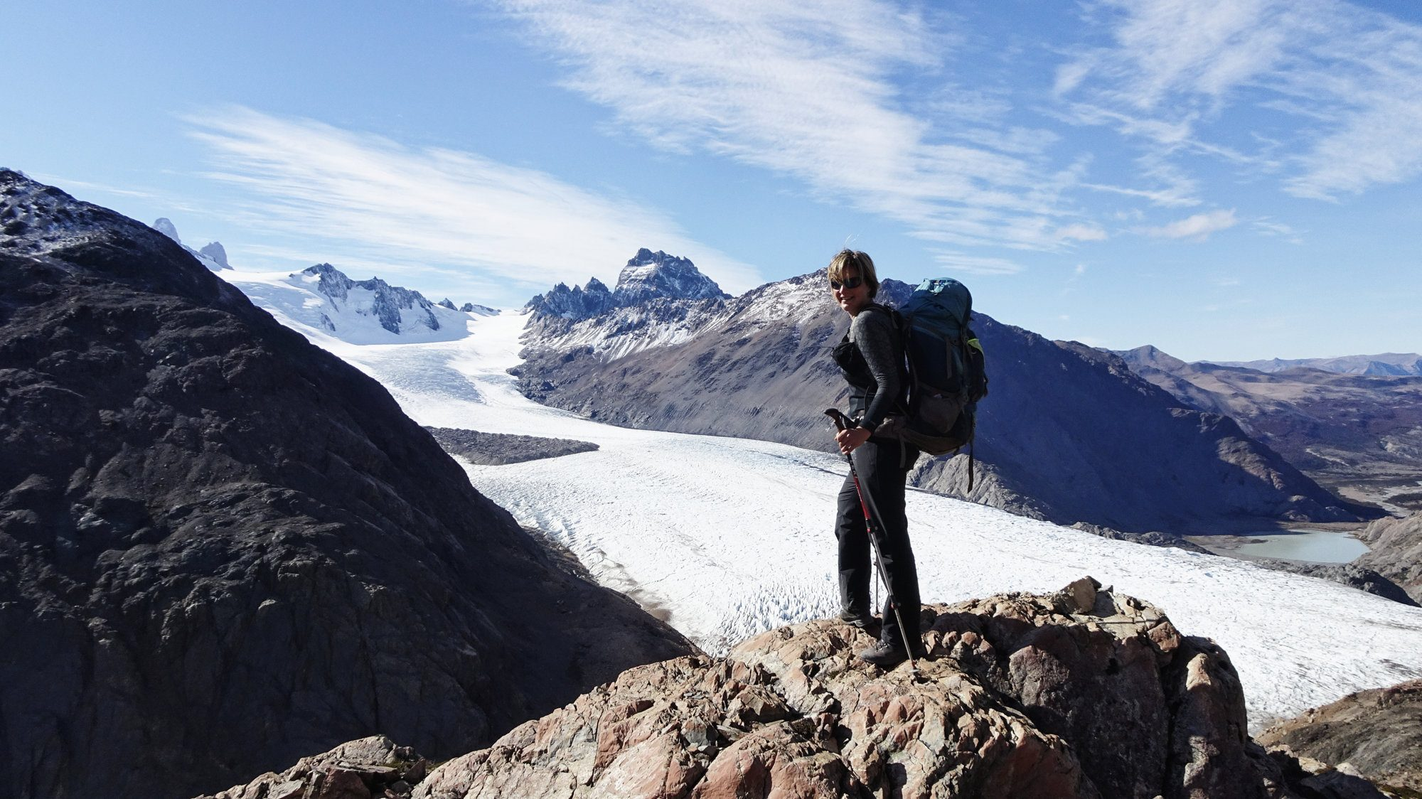 Gletschergebiet Patagoniens
