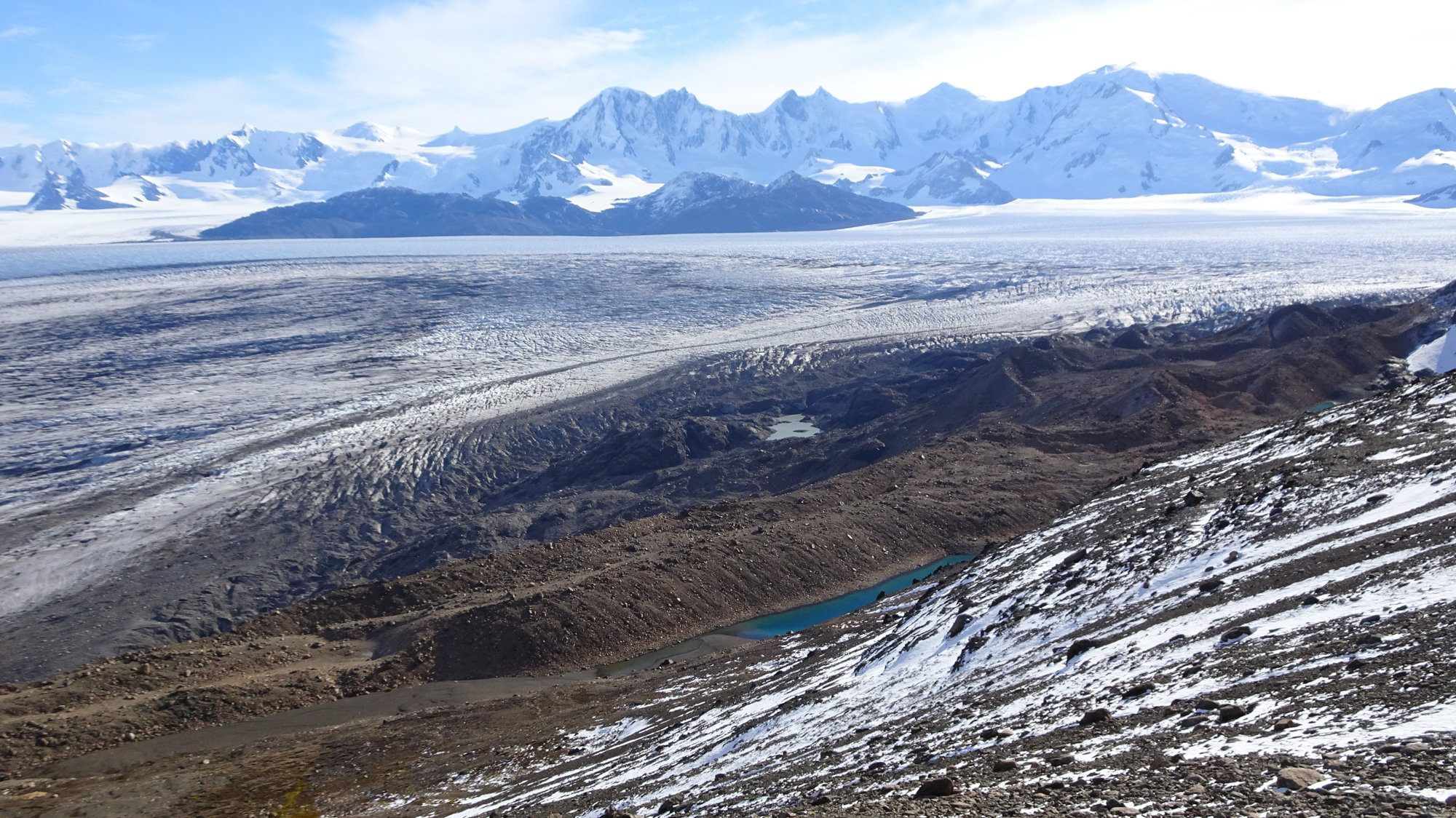 Viedma Gletscher, Huemul Circuit, El Chaltén, Patagonien, Argentinien, Wanderung, Trekking