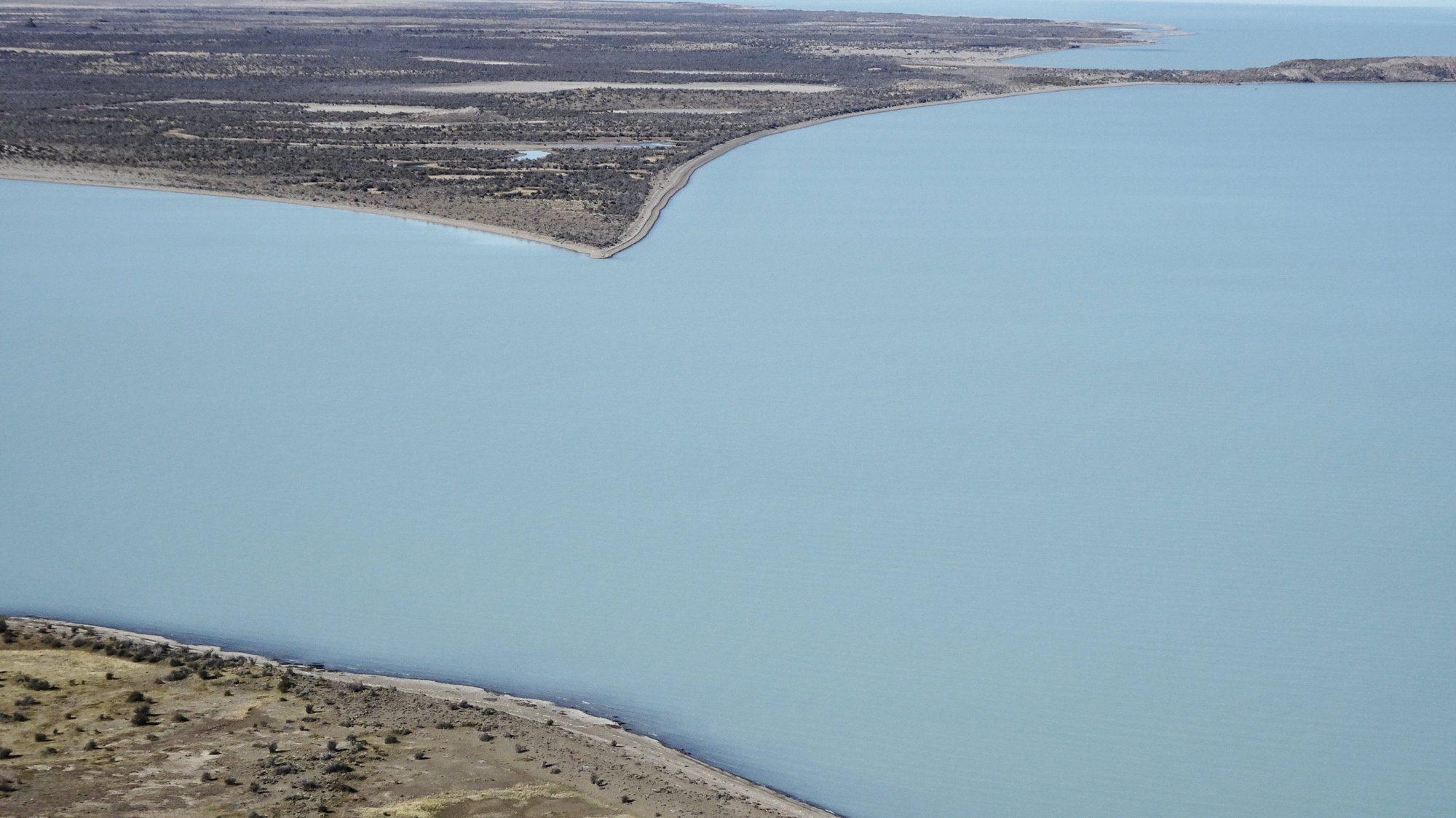 Herzföriger See auf dem Huemul Circuit, El Chaltén, Patagonien, Argentinien, Wanderung, Trekking