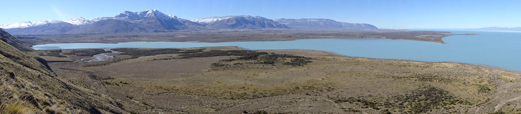 Panorama am Huemul Circuit, El Chaltén, Patagonien, Argentinien, Wanderung, Trekking