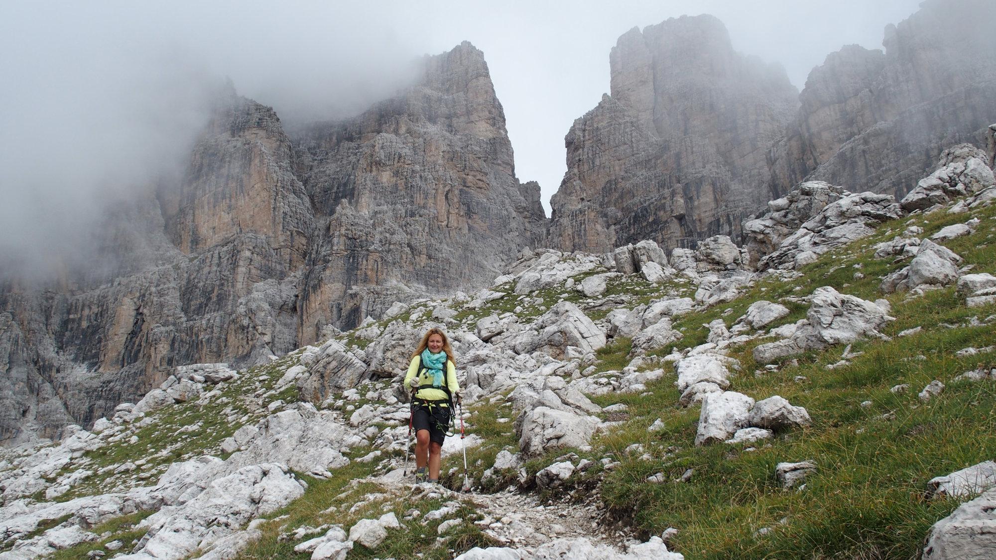 Brenta, Klettersteig, Dolomiten