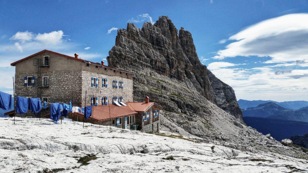 Pedrotti-Tosa Hütte, Brenta, Klettersteig, Dolomiten