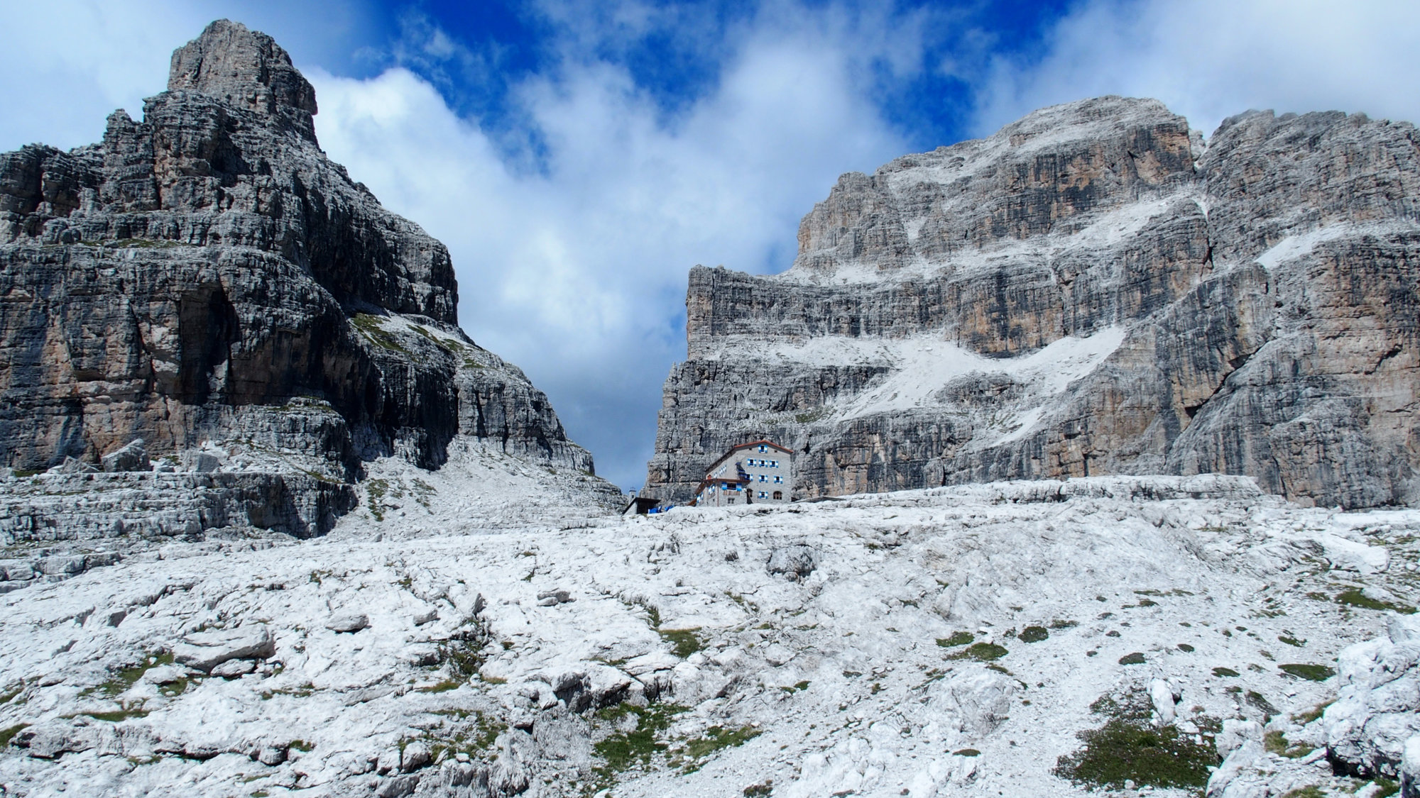 Pedrotti Tosa Hütte, Brenta, Klettersteig, Dolomiten