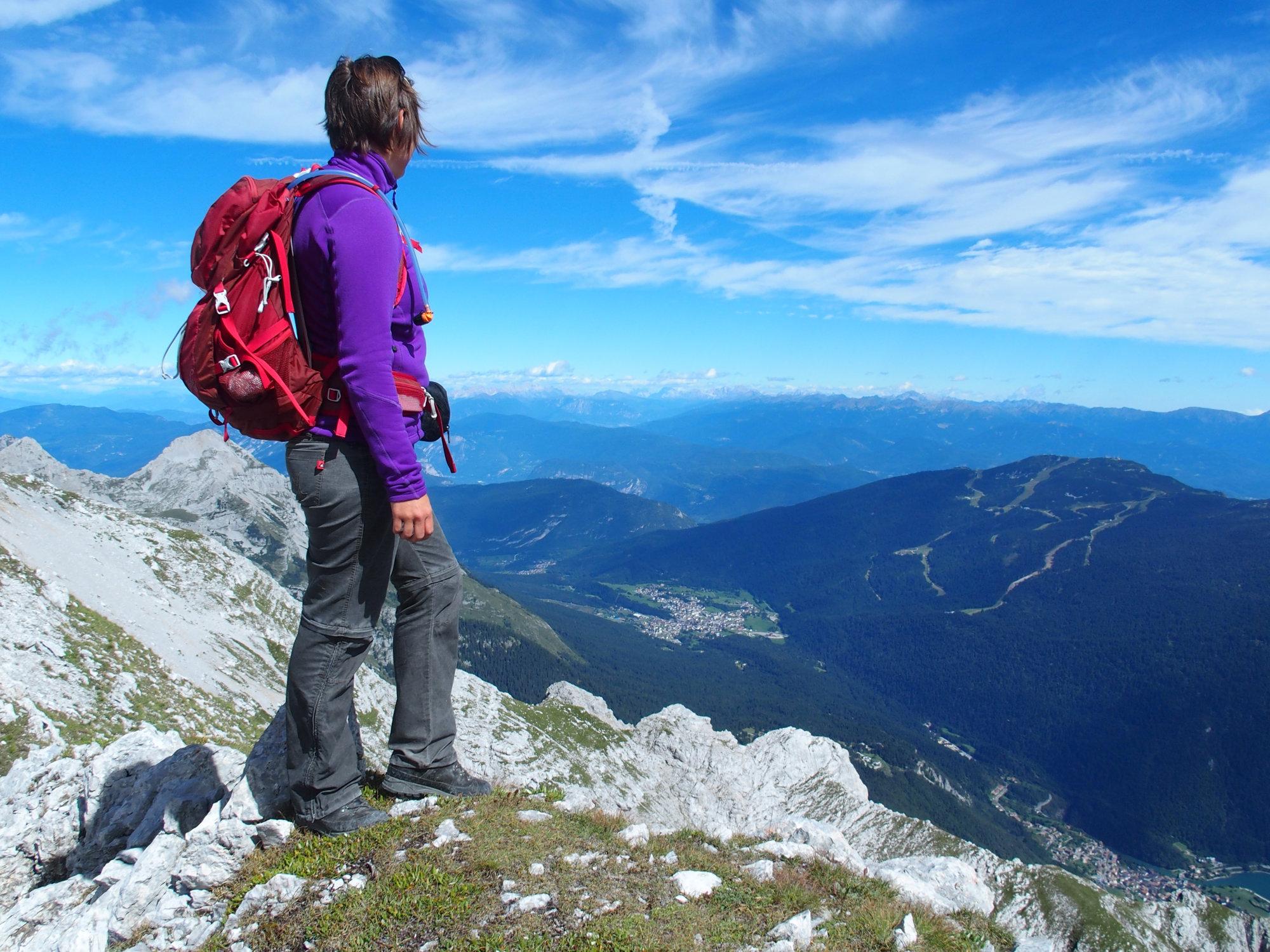 Monte Daino, Brenta, Klettersteig, Dolomiten
