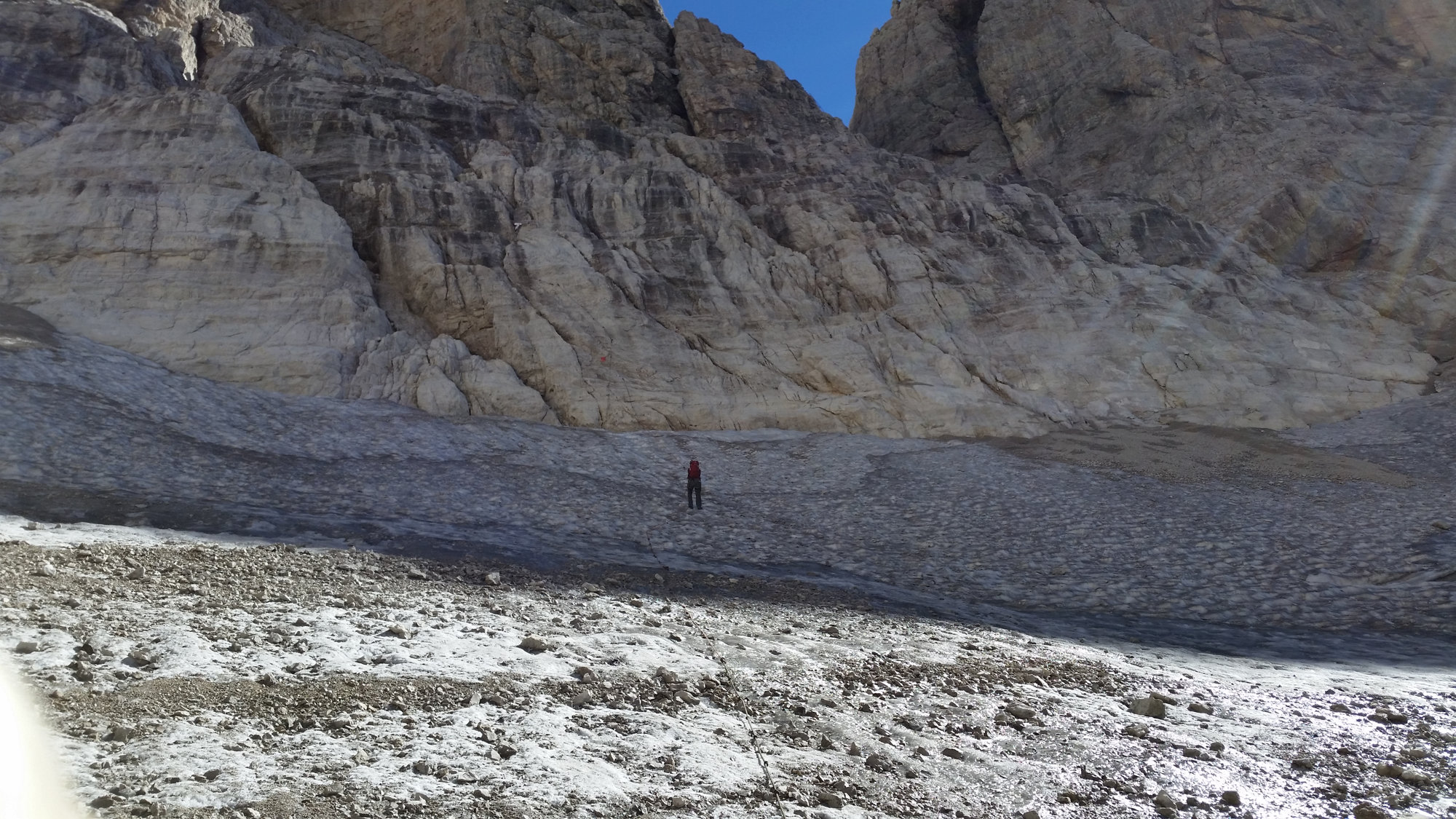Gletscher, Abseilen, Brenta, Klettersteig, Dolomiten