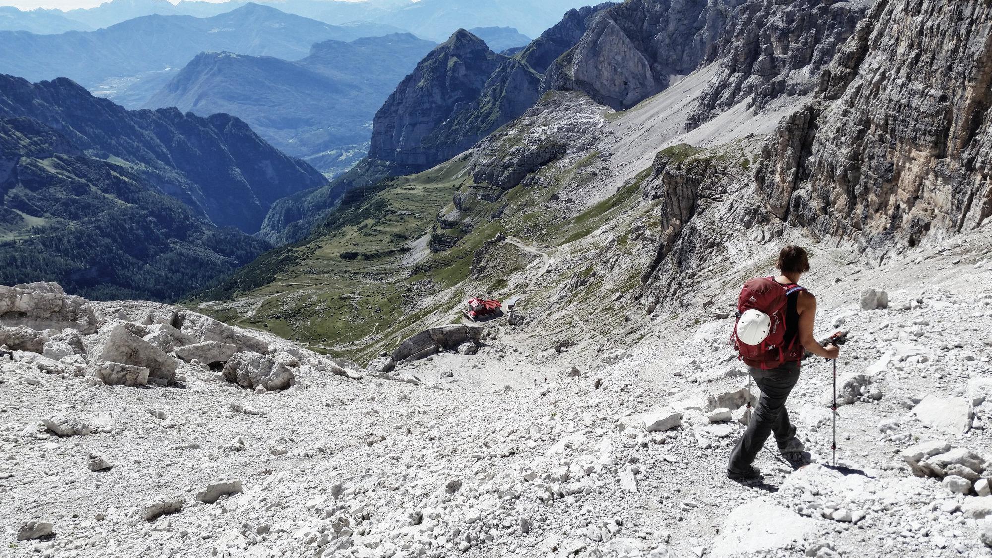 Agostini Hütte, Brenta, Klettersteig, Dolomiten