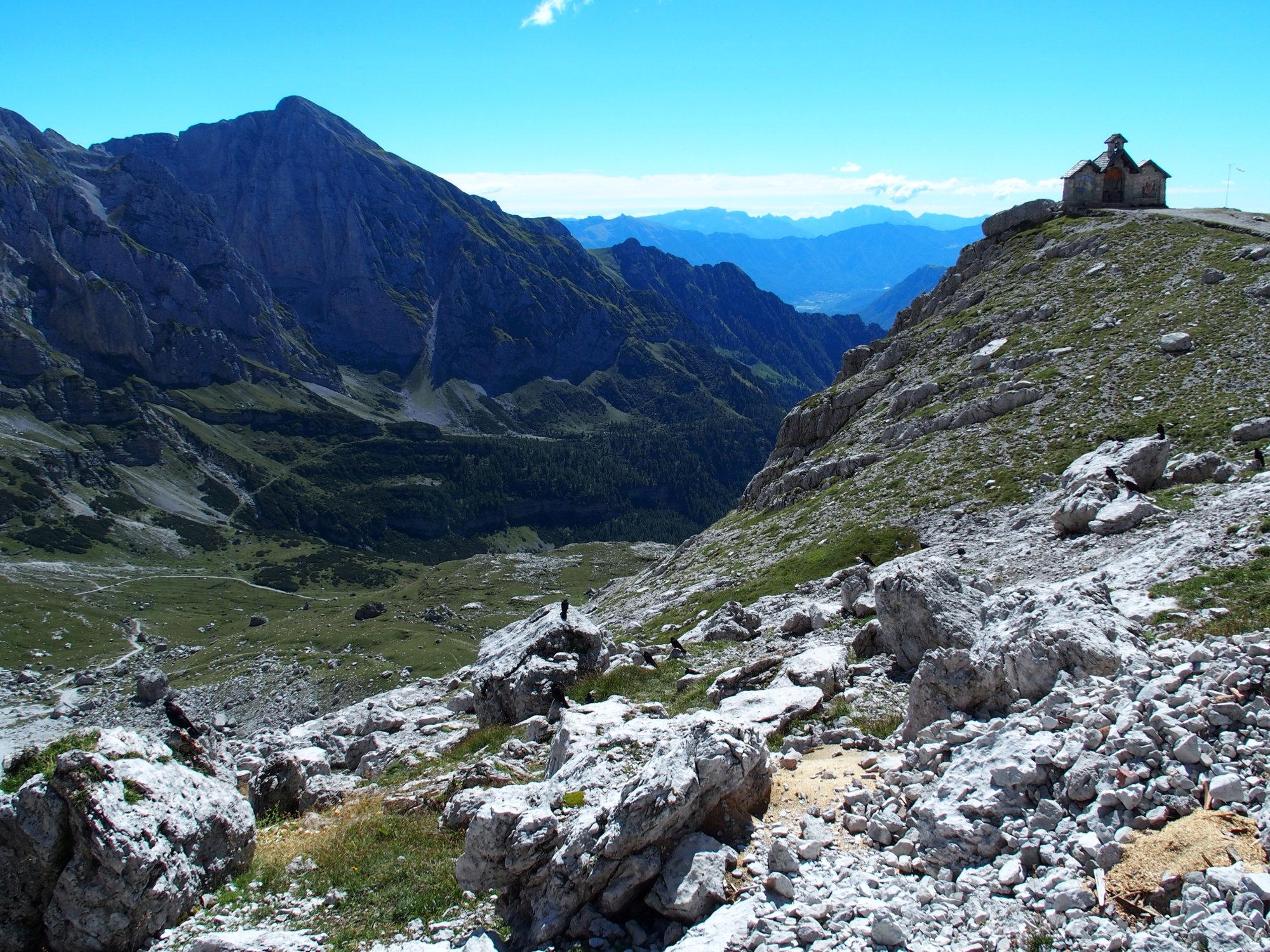 Kappelle, Agostini, Brenta, Klettersteig, Dolomiten