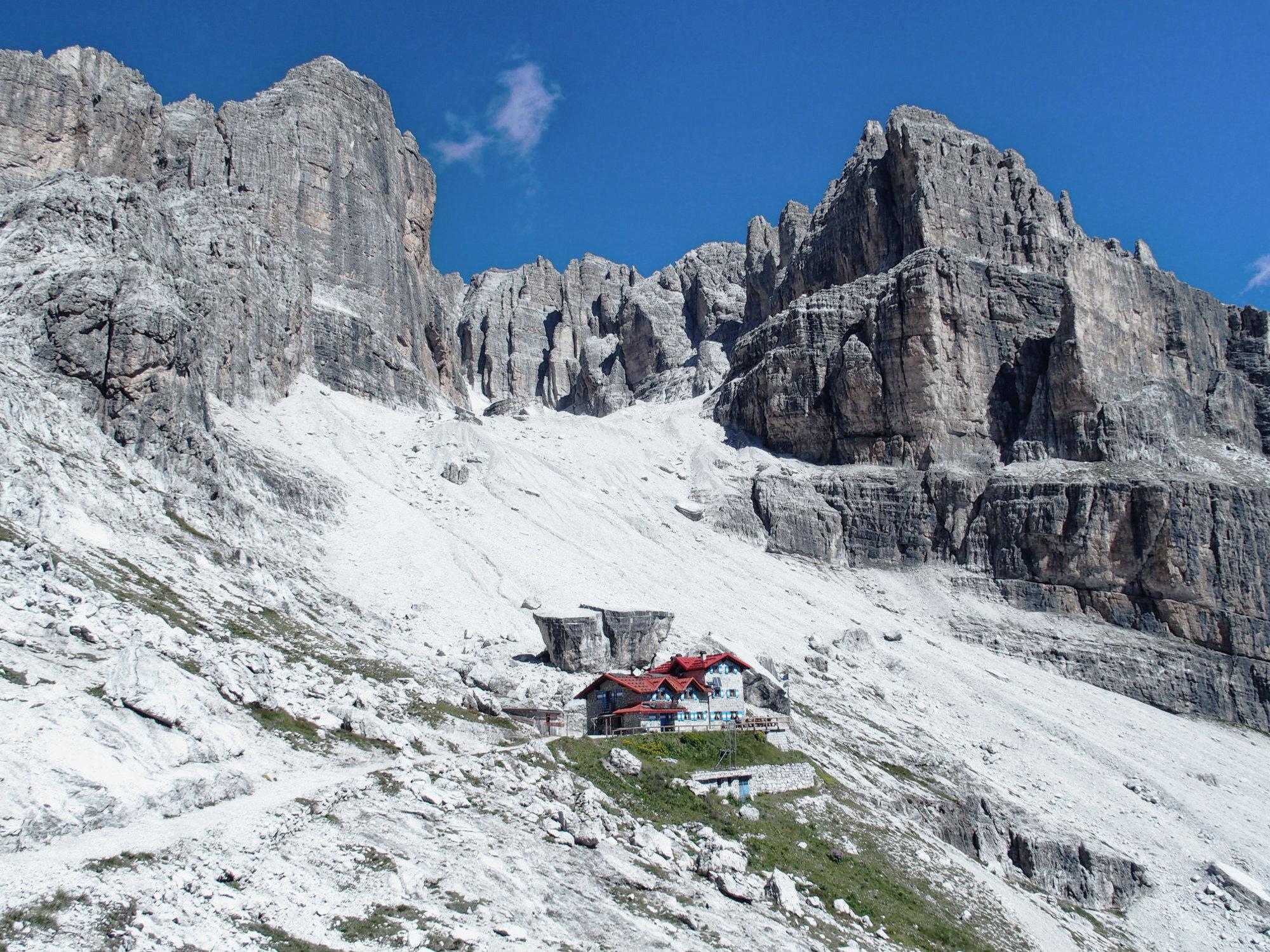 Rifugio Agostini, Brenta, Klettersteig, Dolomiten