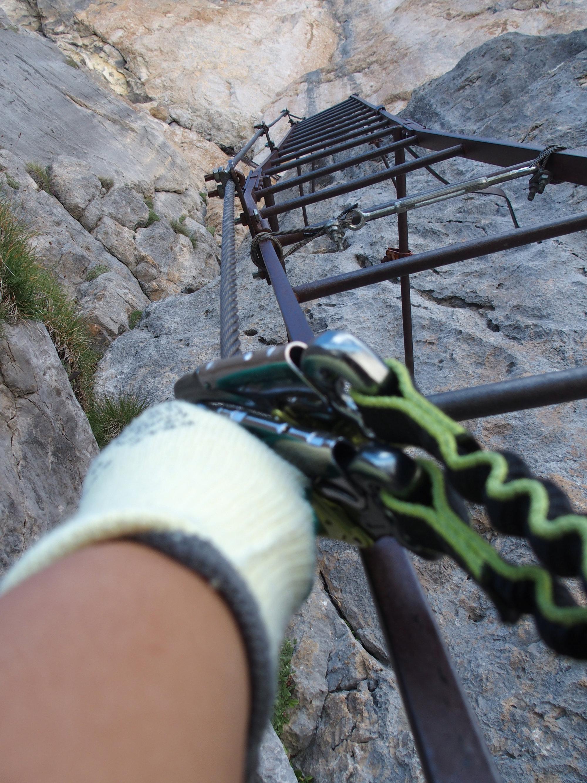 Klettersteig, Casiglione, Brenta, Klettersteig, Dolomiten