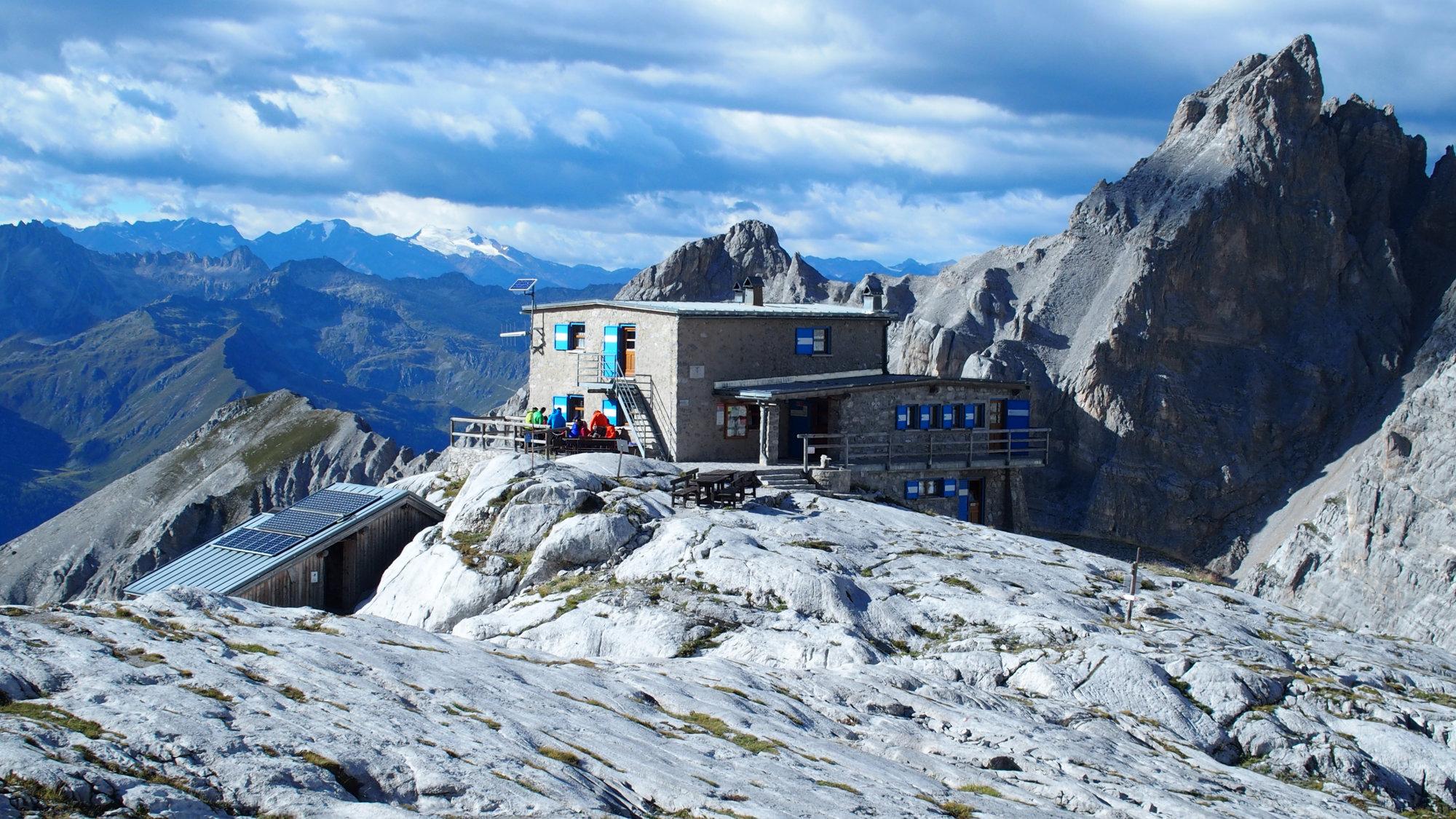 Dodici Apostoli Hütte, Brenta, Klettersteig, Dolomiten