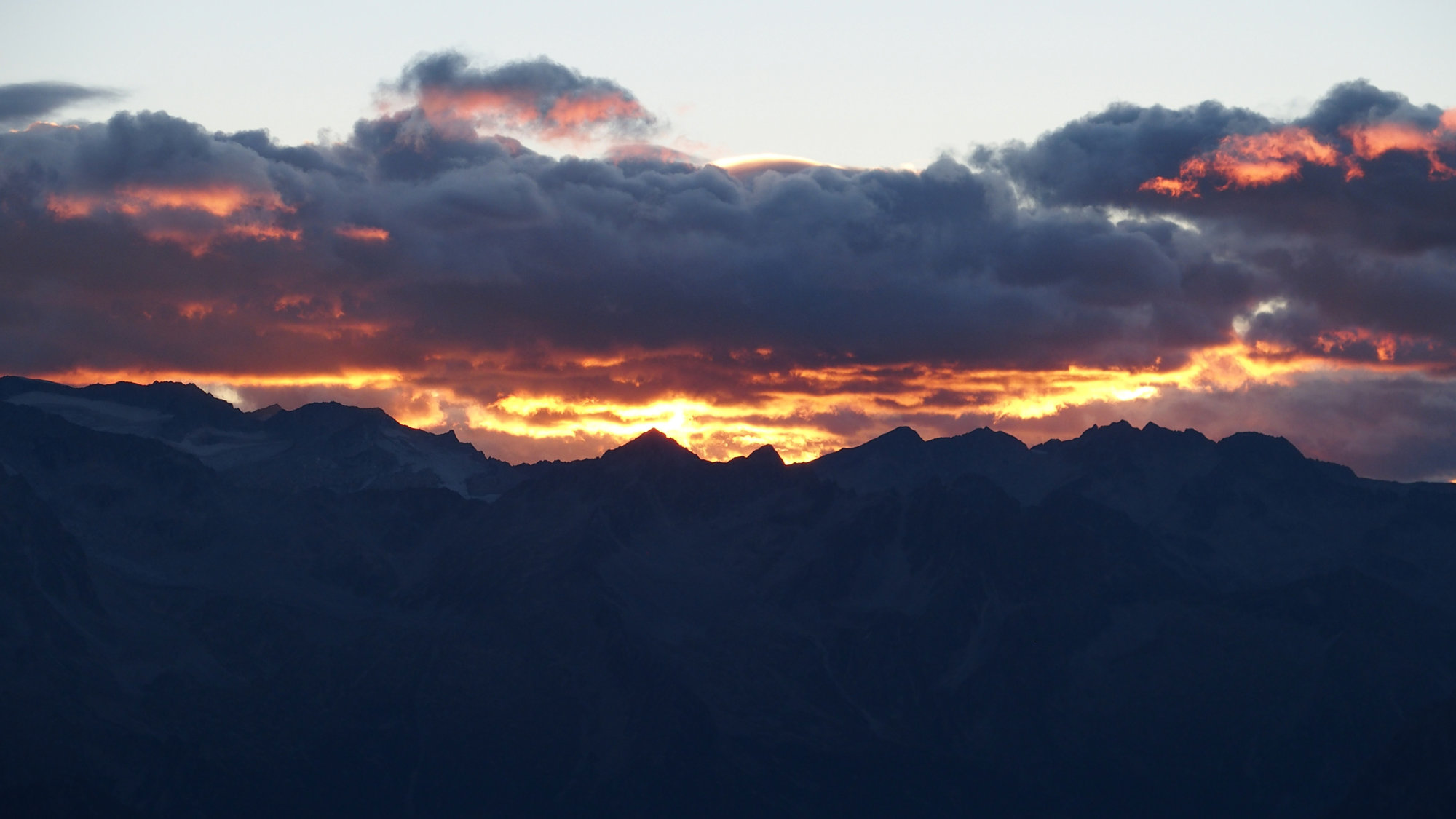 Sonnenaufgang Pedrotti Tosa, Brenta, Klettersteig, Dolomiten