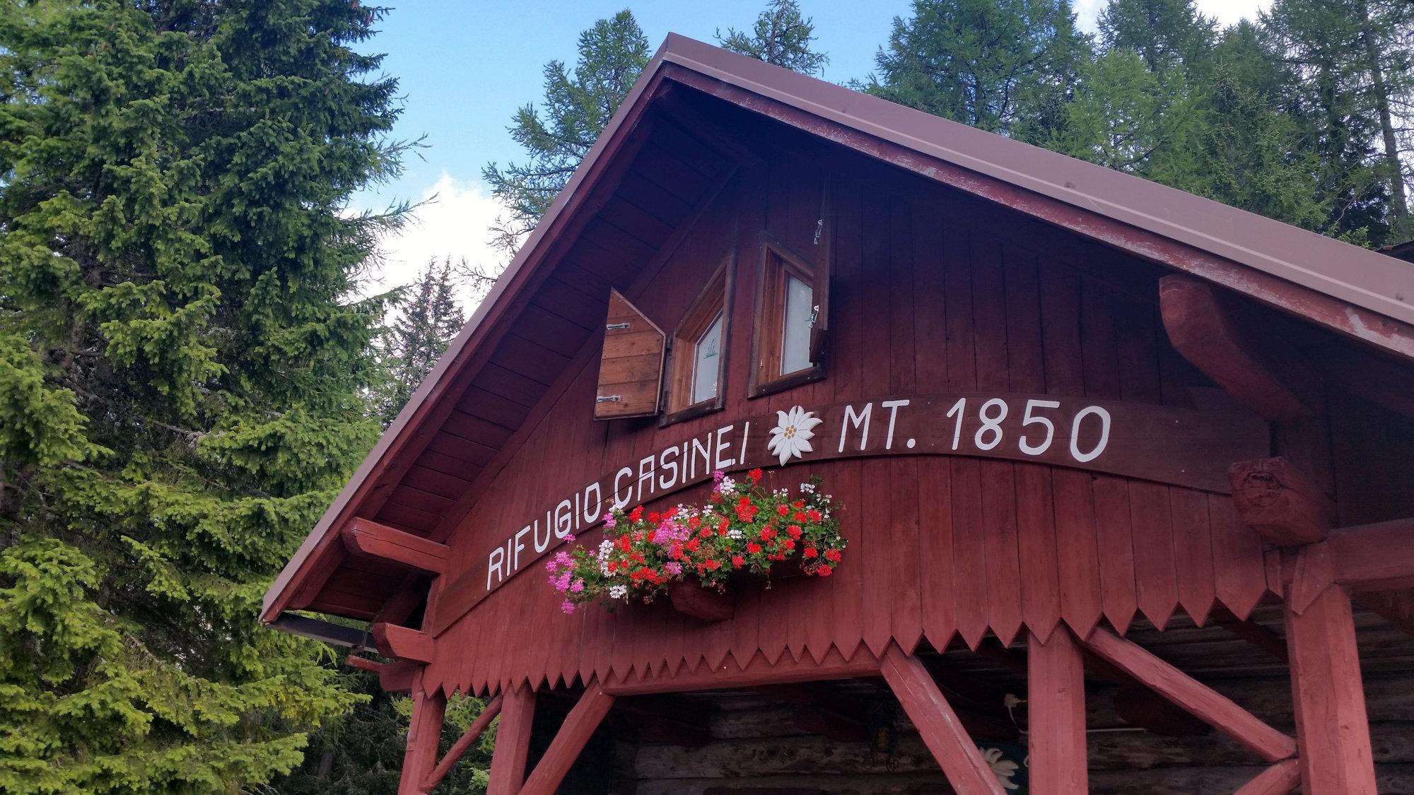 Casinei Hütte, Brenta, Klettersteig, Dolomiten