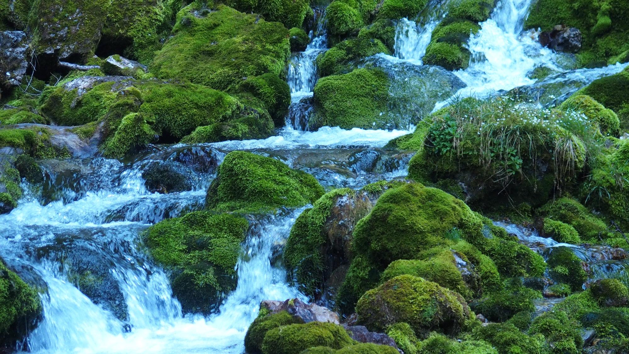 Vallesinella Wasserfälle, Brenta, Klettersteig, Dolomiten