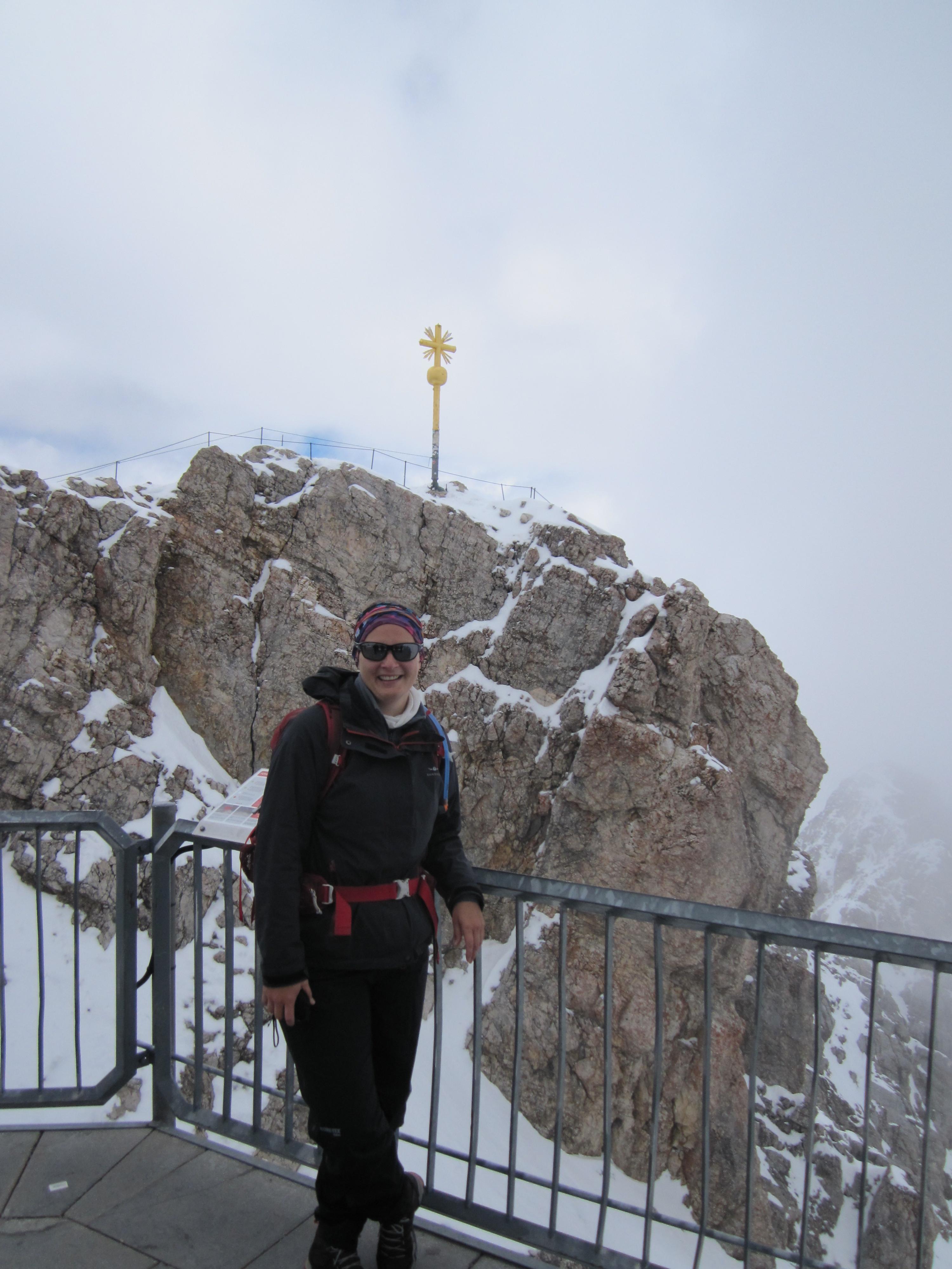 Aussichtsplattform Zugspitze, Durchs Reintal auf die Zugspitze Hüttentour Fjella