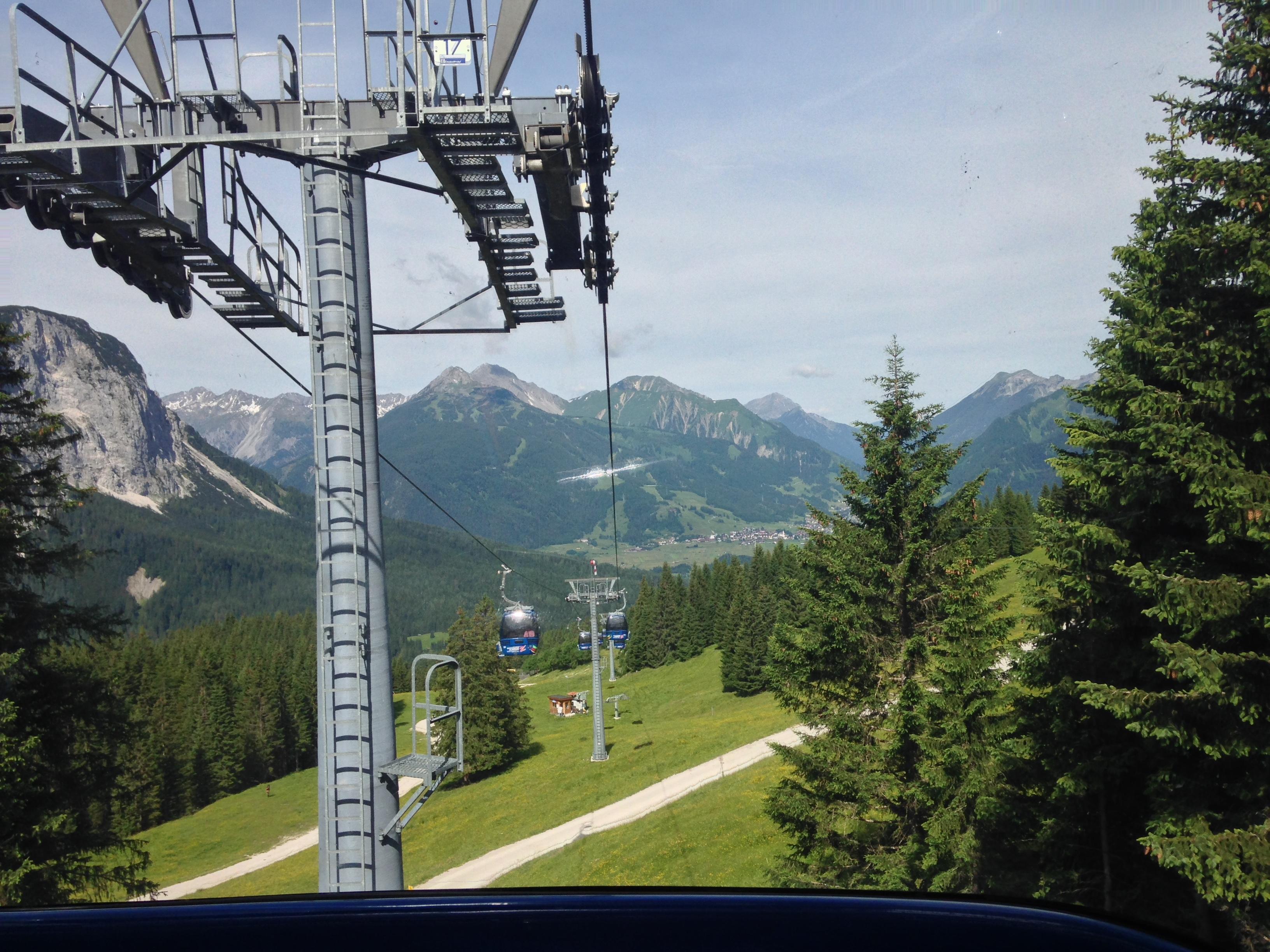 Ehrwalder Almbahn, Durchs Reintal auf die Zugspitze Hüttentour Fjella