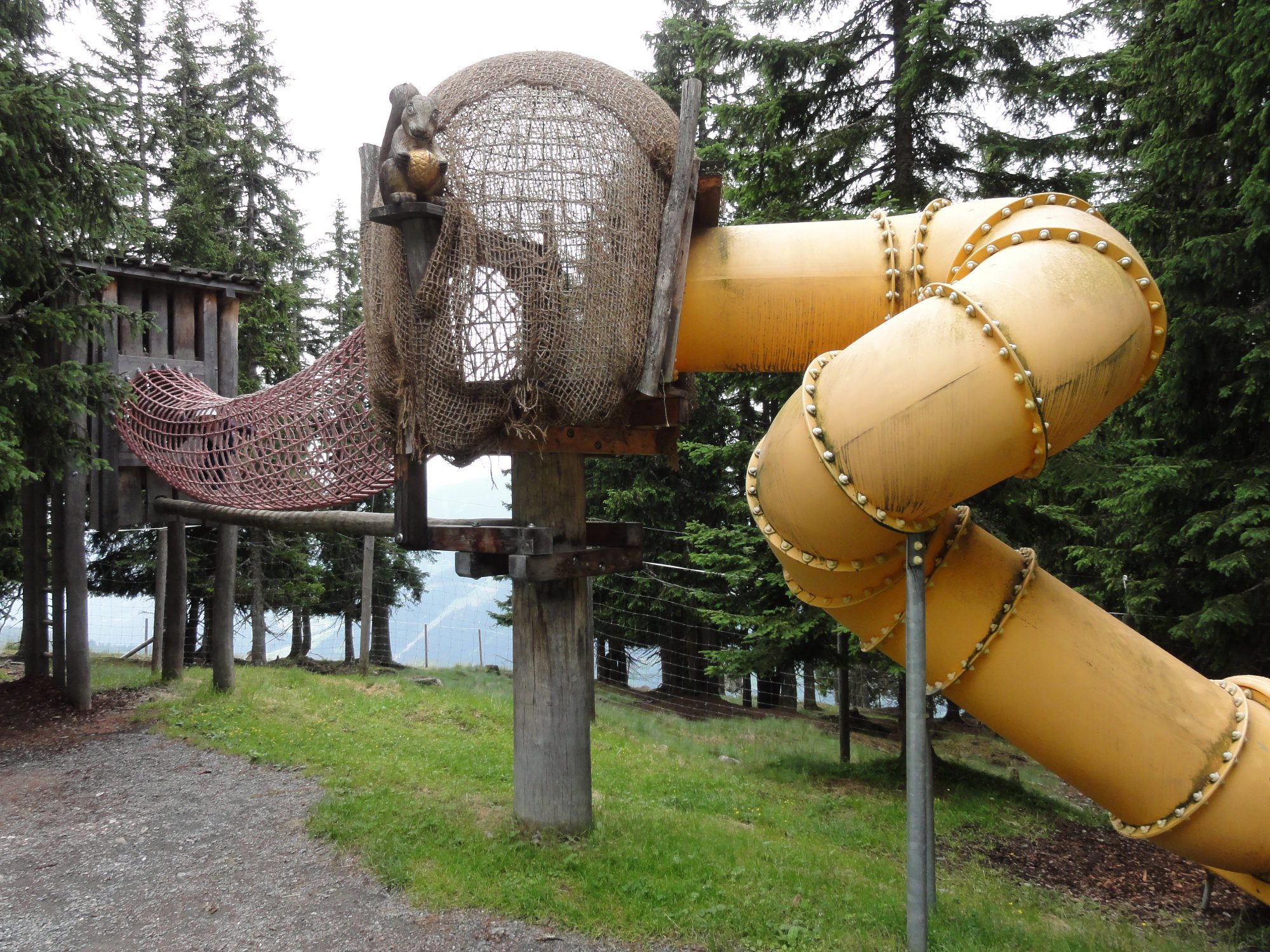 Montelino's Erlebnisweg - Spielstation