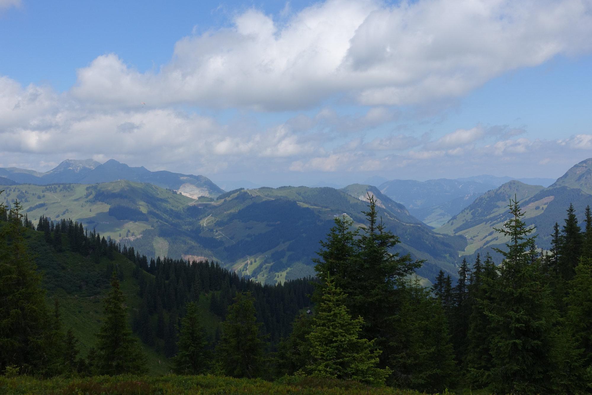 Blick vom Schattberg