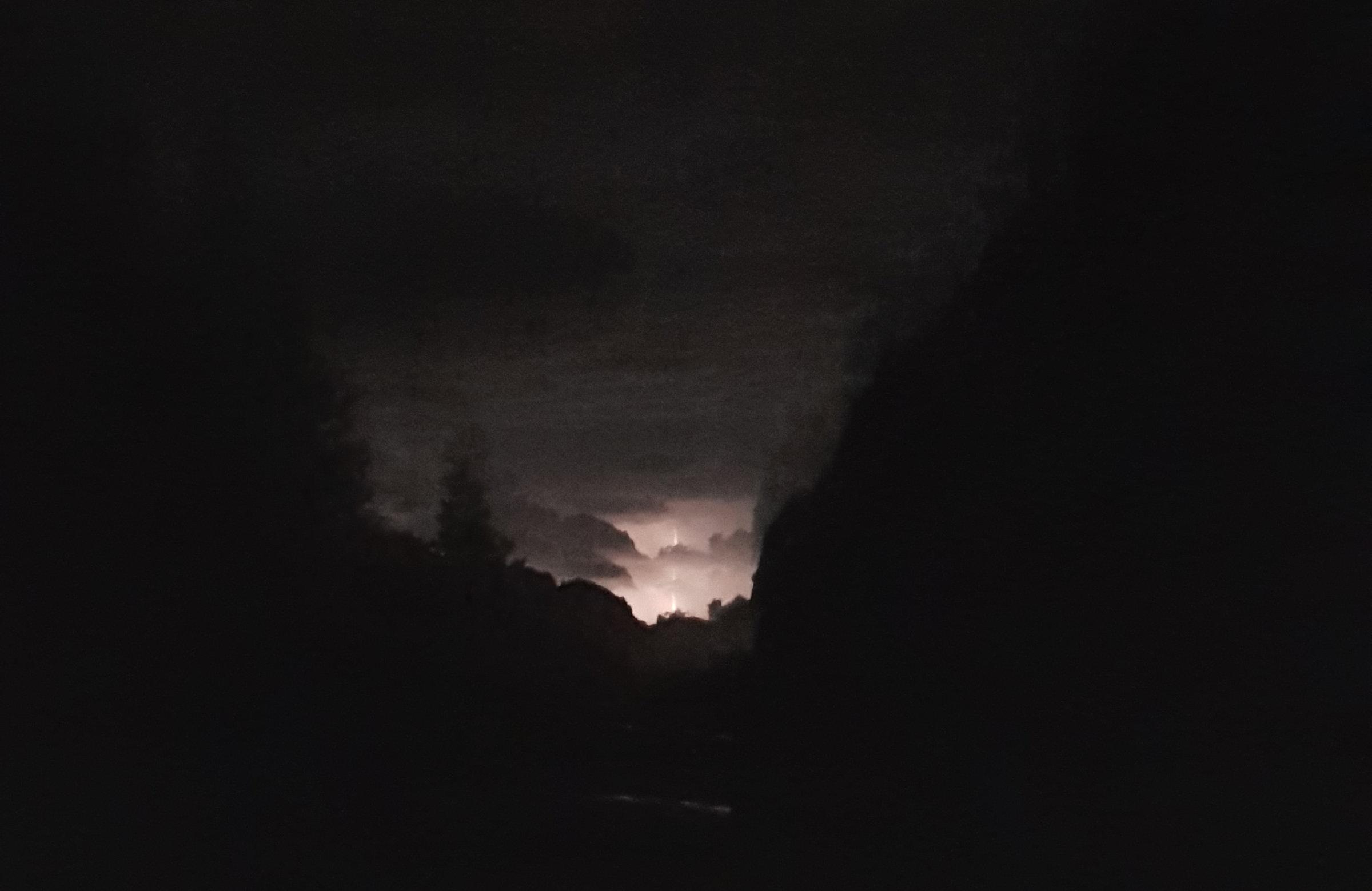 Wetterleuchten, Korsika, GR20 Weitwanderweg, Wandern, Berge, Frankreich