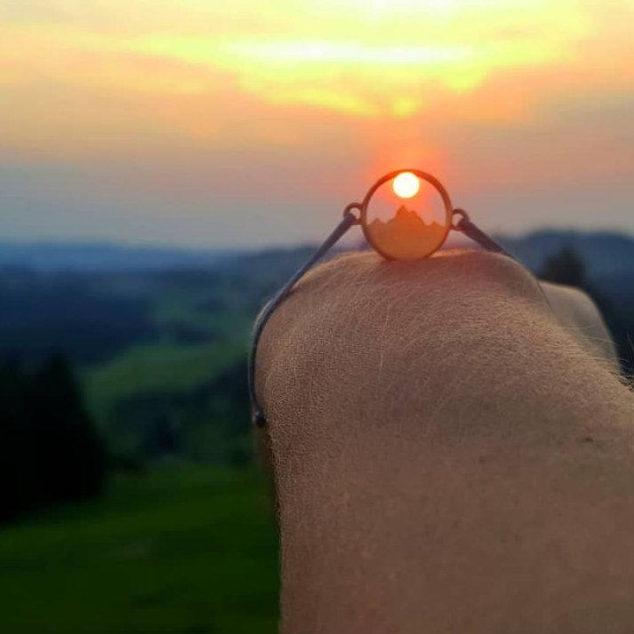 Alpenblick Armband by (c) @dani.ontour